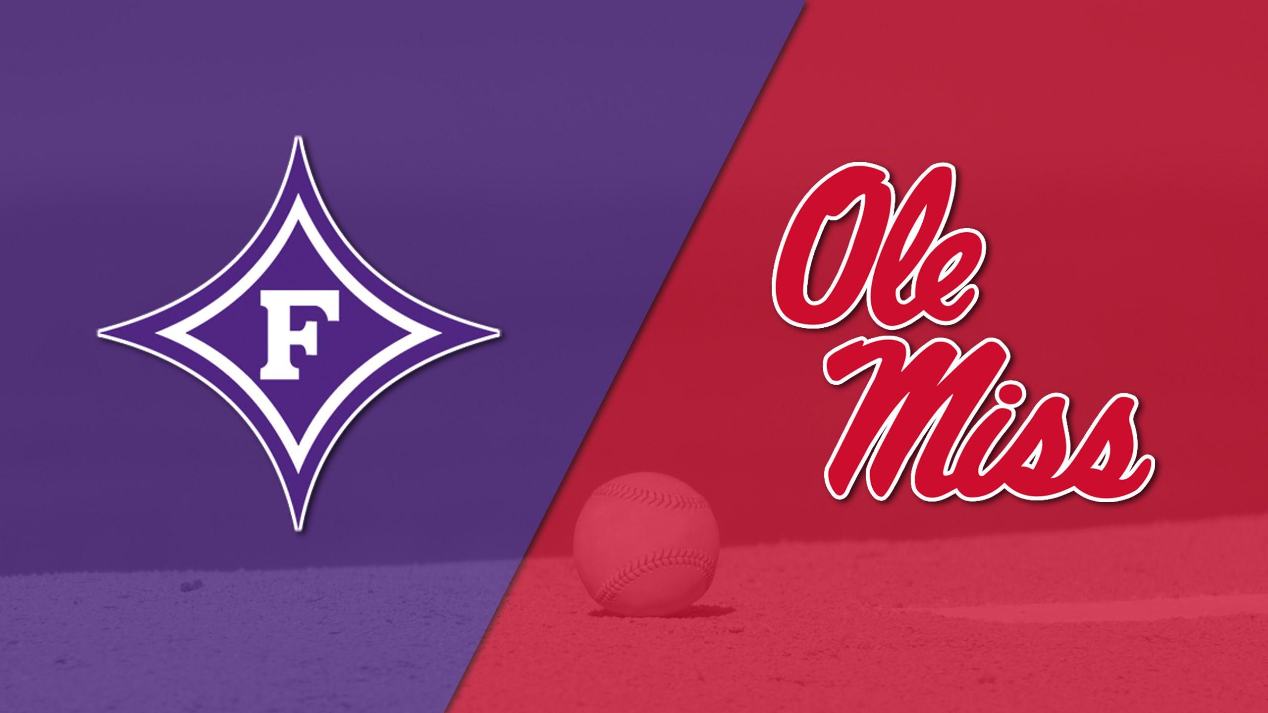Furman vs. #20 Ole Miss (Baseball)