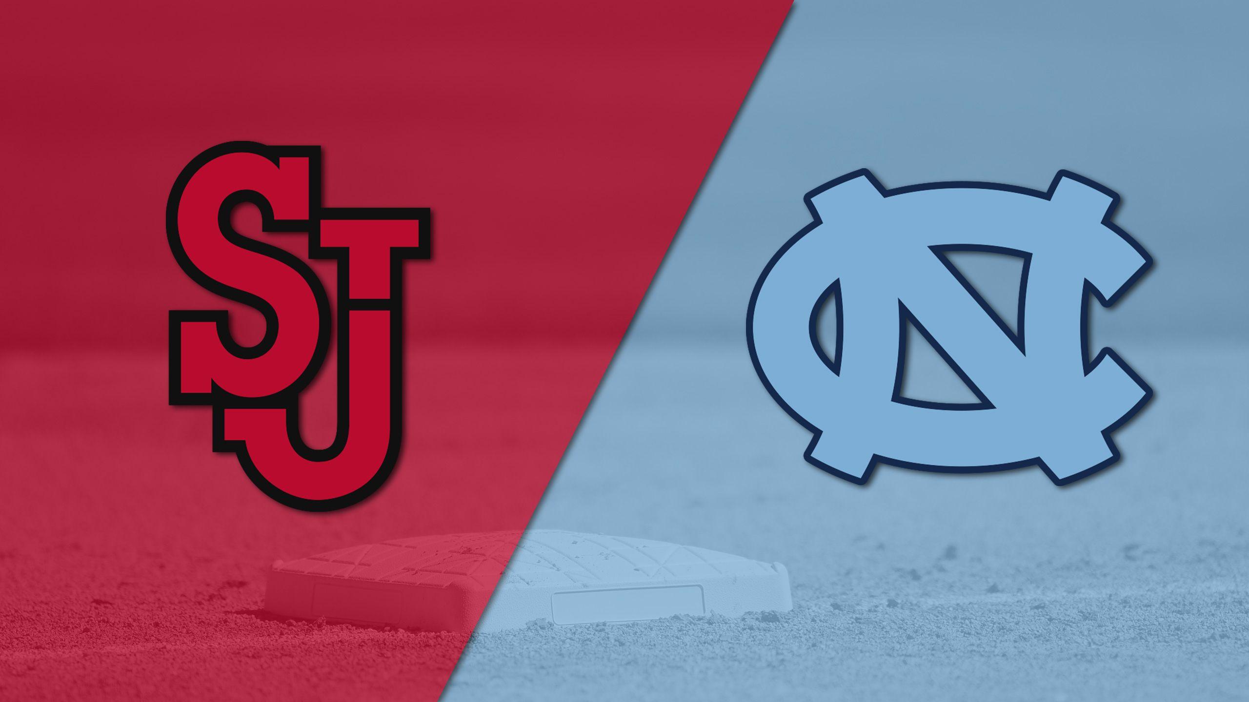 St. John's vs. #13 North Carolina (Baseball)