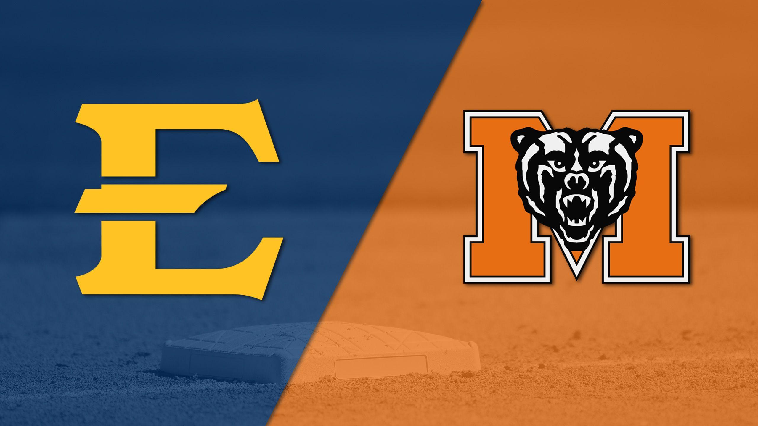 East Tennessee State vs. Mercer (Baseball)