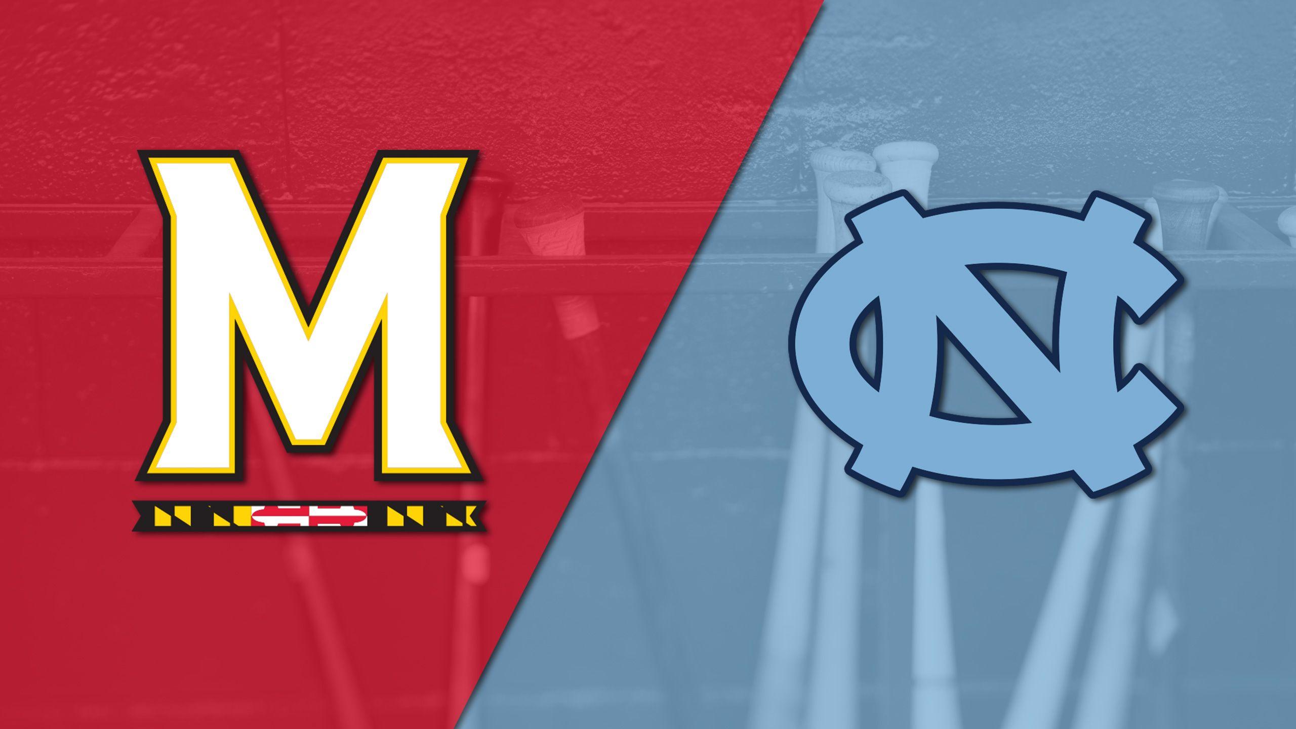 Maryland vs. #9 North Carolina (Baseball)