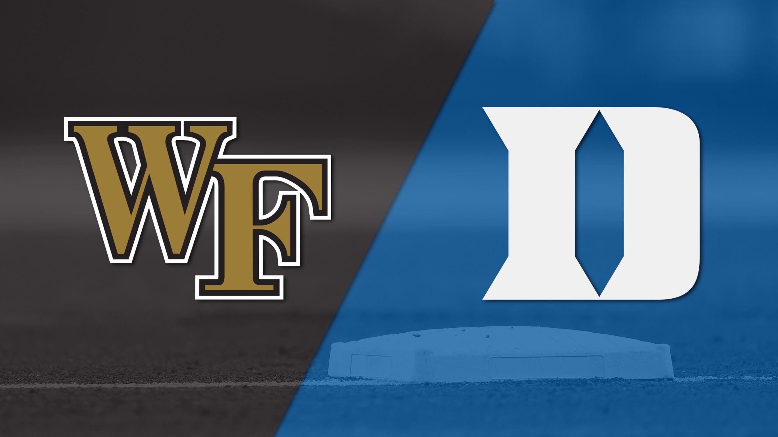 Wake Forest vs. Duke (Baseball)