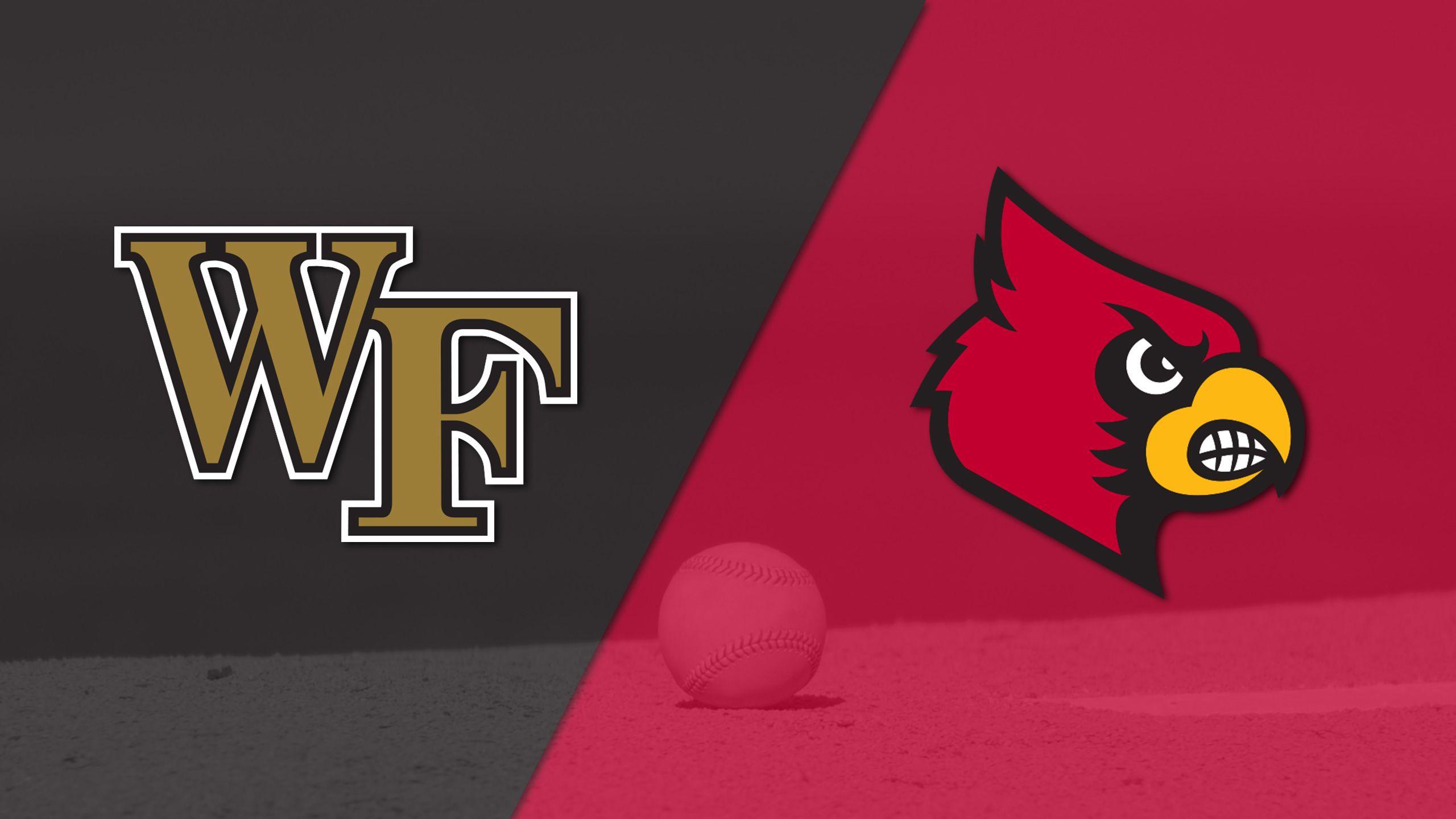 #22 Wake Forest vs. #2 Louisville (Baseball)