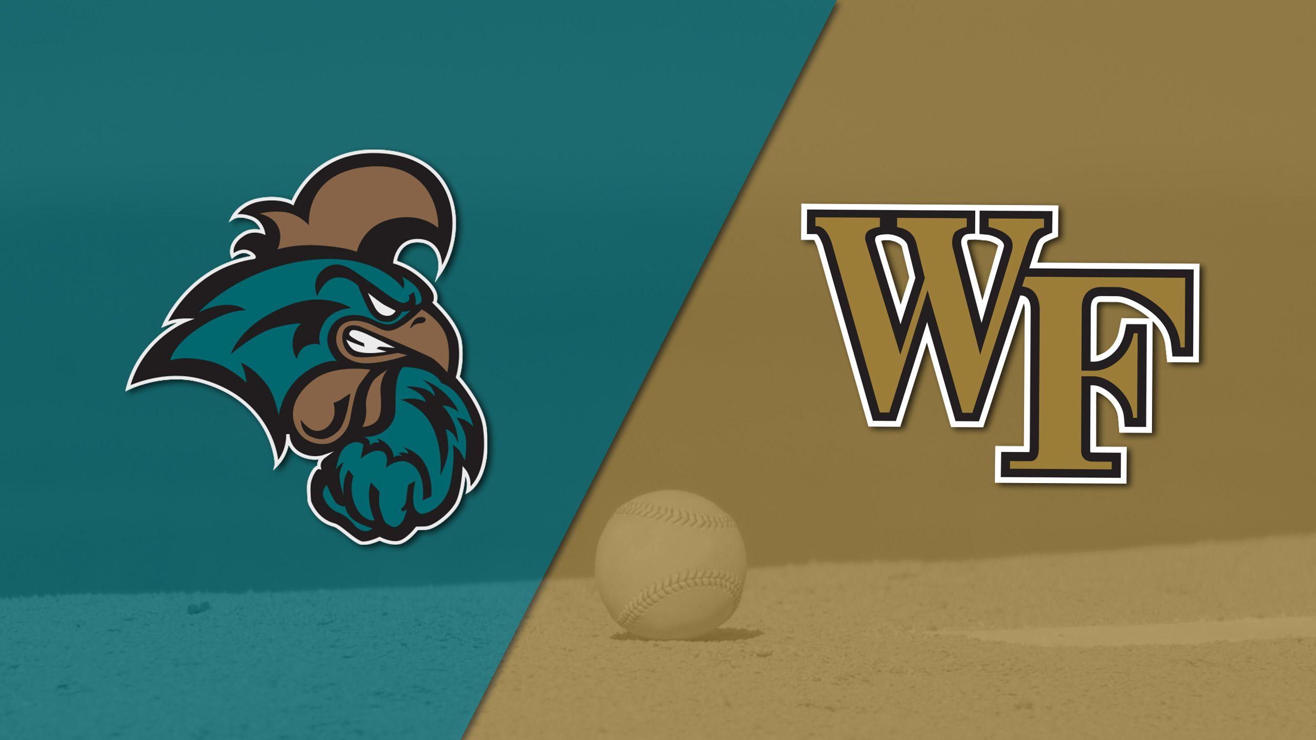 Coastal Carolina vs. #22 Wake Forest (Baseball)