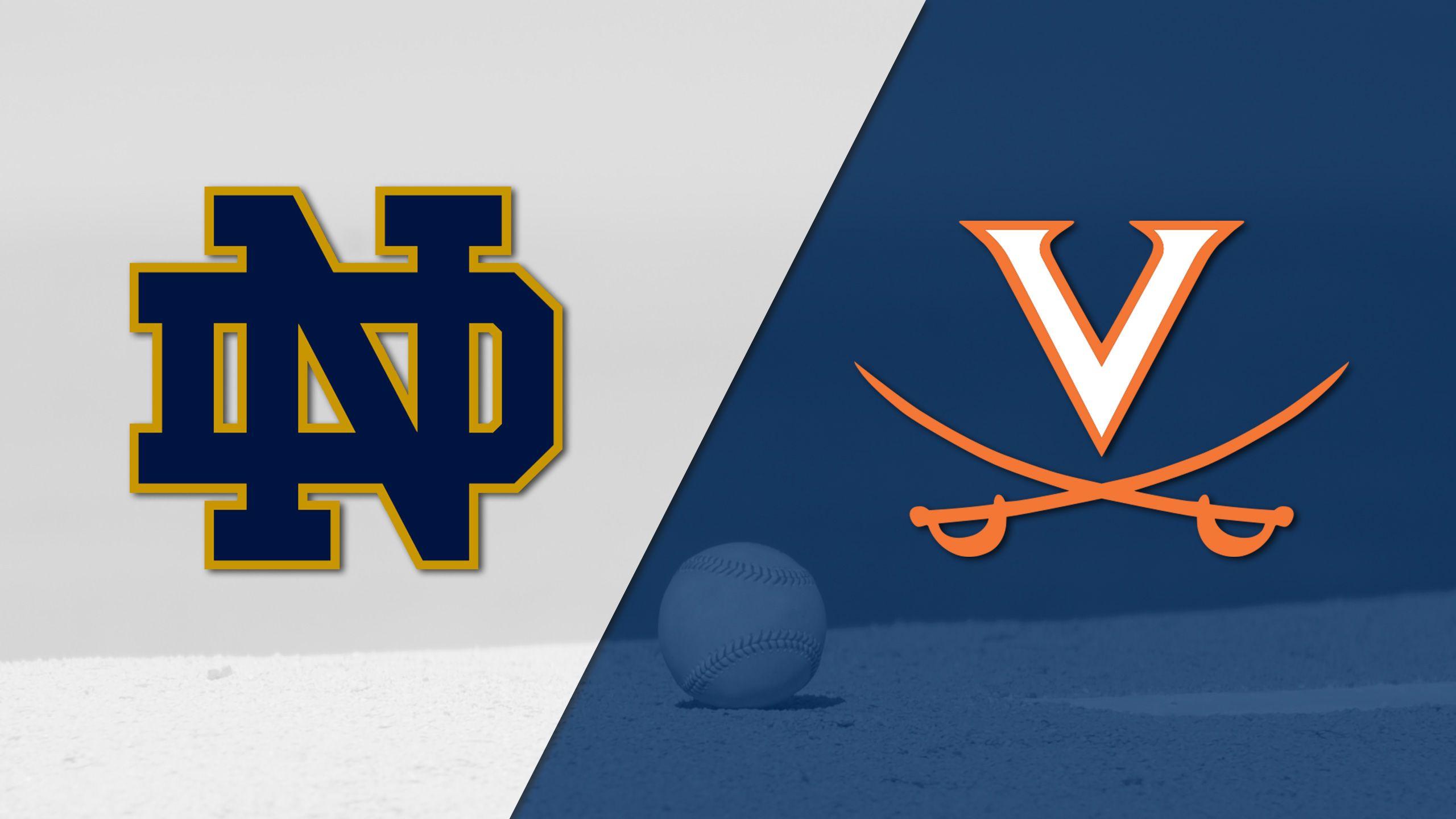 Notre Dame vs. #11 Virginia (Baseball)