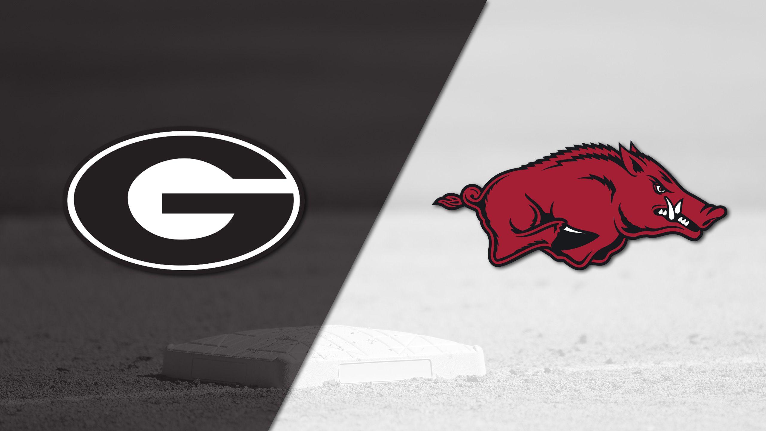 Georgia vs. #15 Arkansas (Baseball)