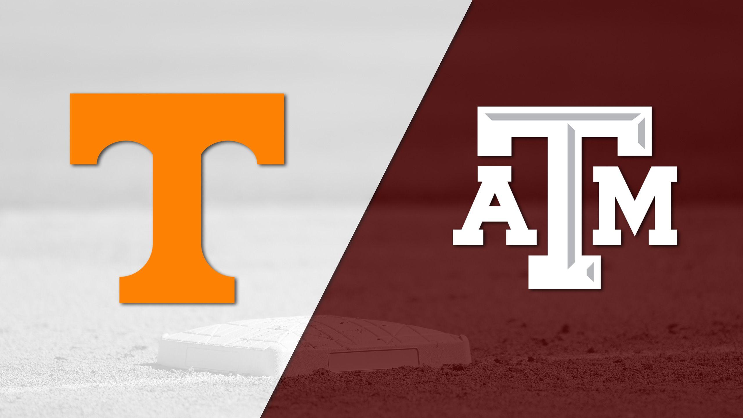 Tennessee vs. Texas A&M (Baseball)