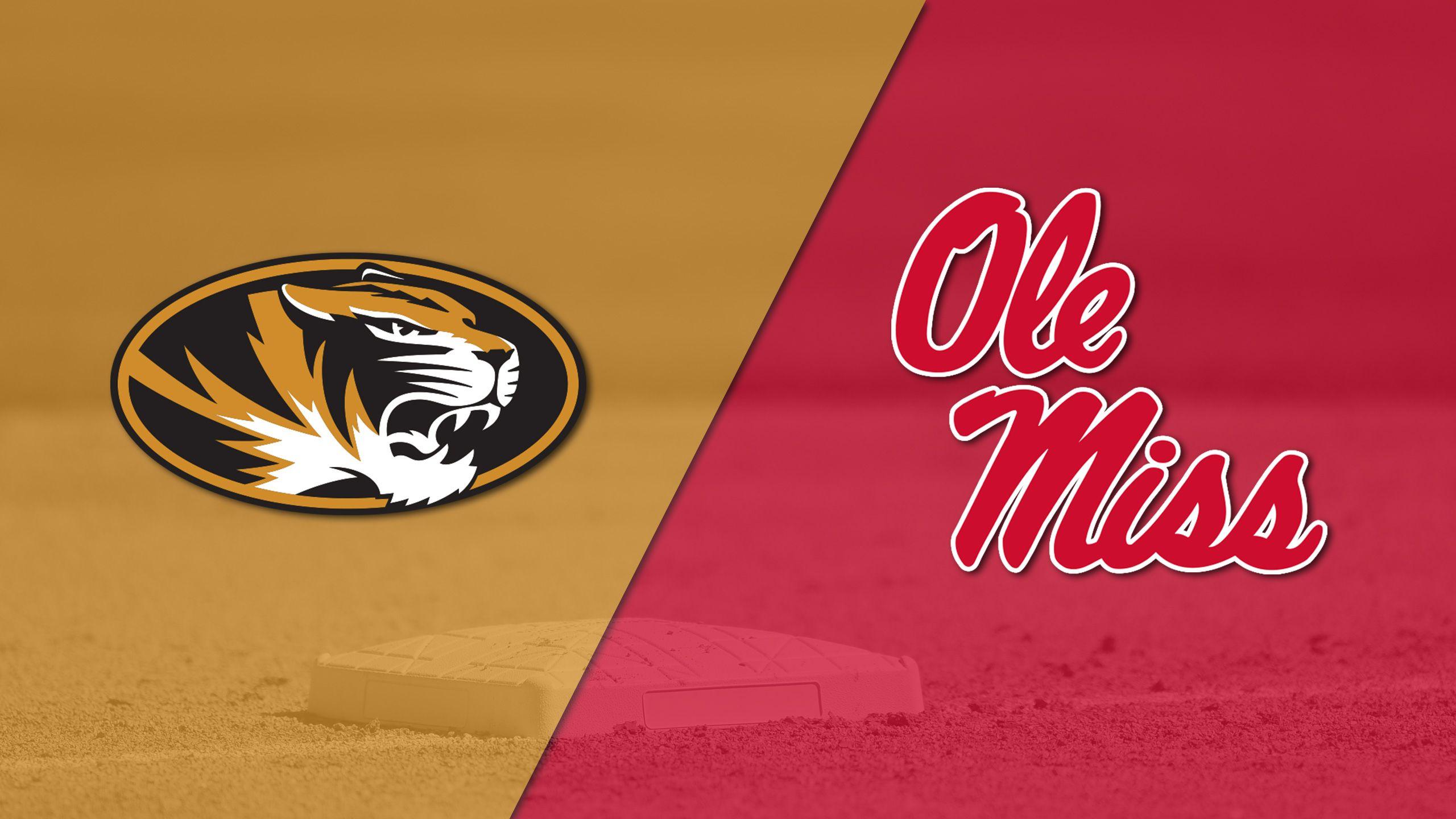 Missouri vs. Ole Miss (Baseball)