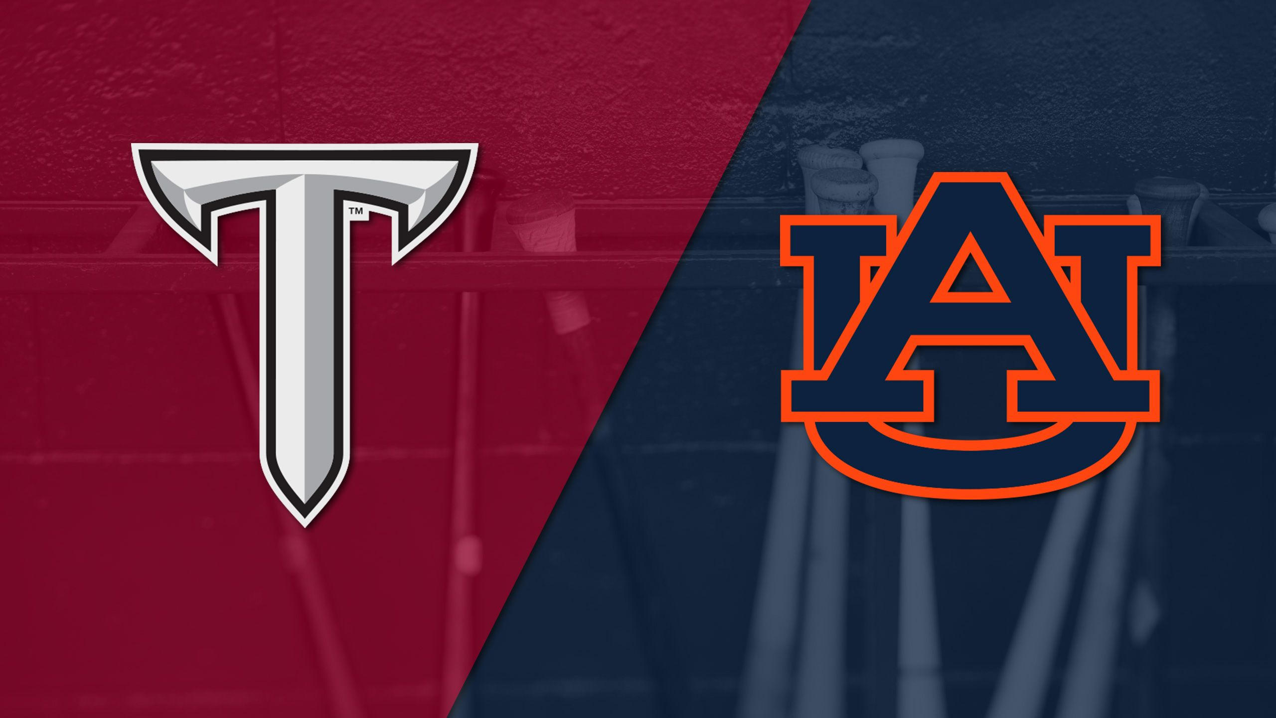 Troy vs. #9 Auburn (Baseball)