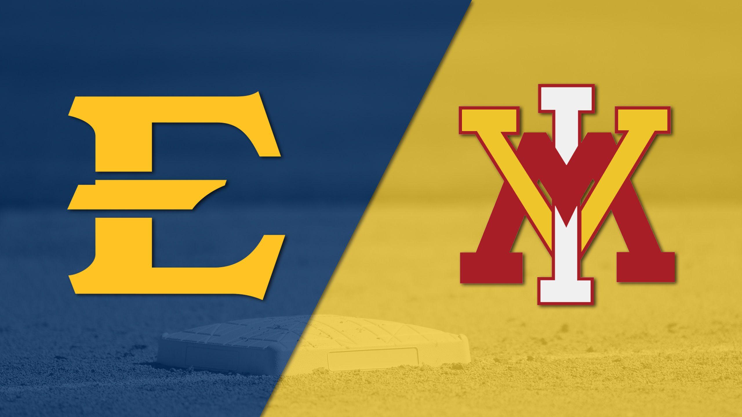 East Tennessee State vs. VMI (Baseball)