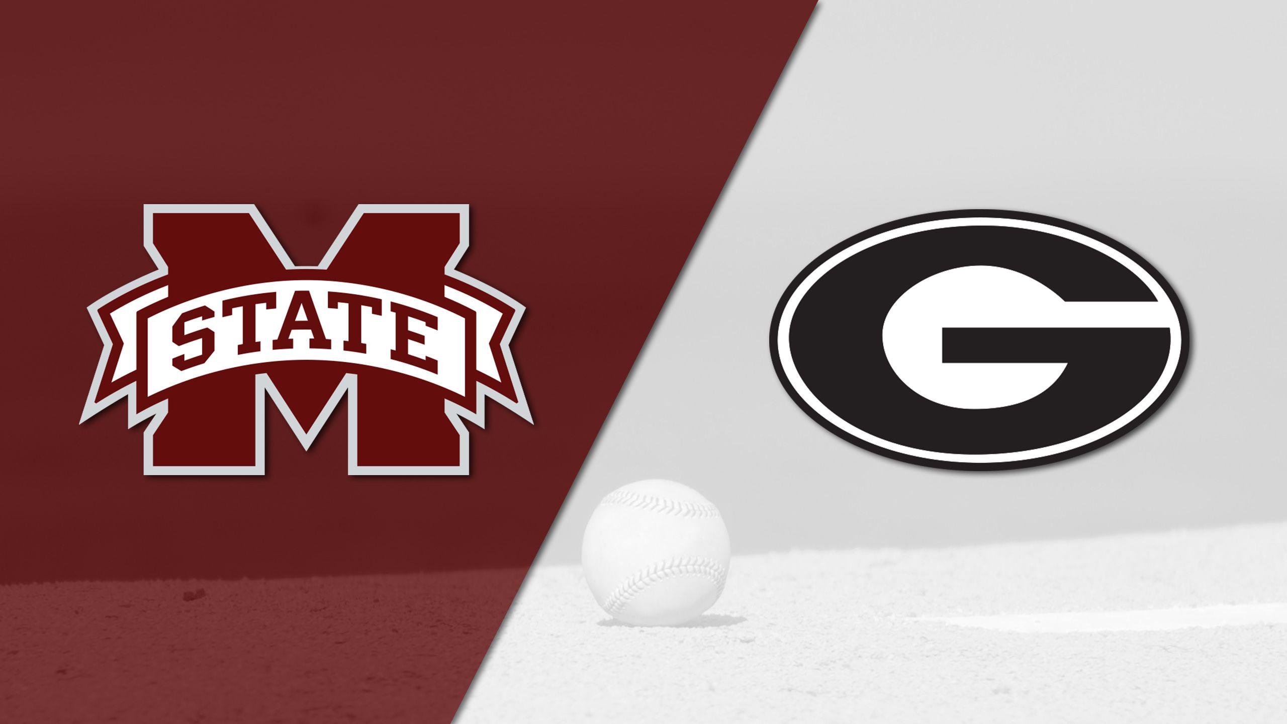 #9 Mississippi State vs. Georgia (Baseball)