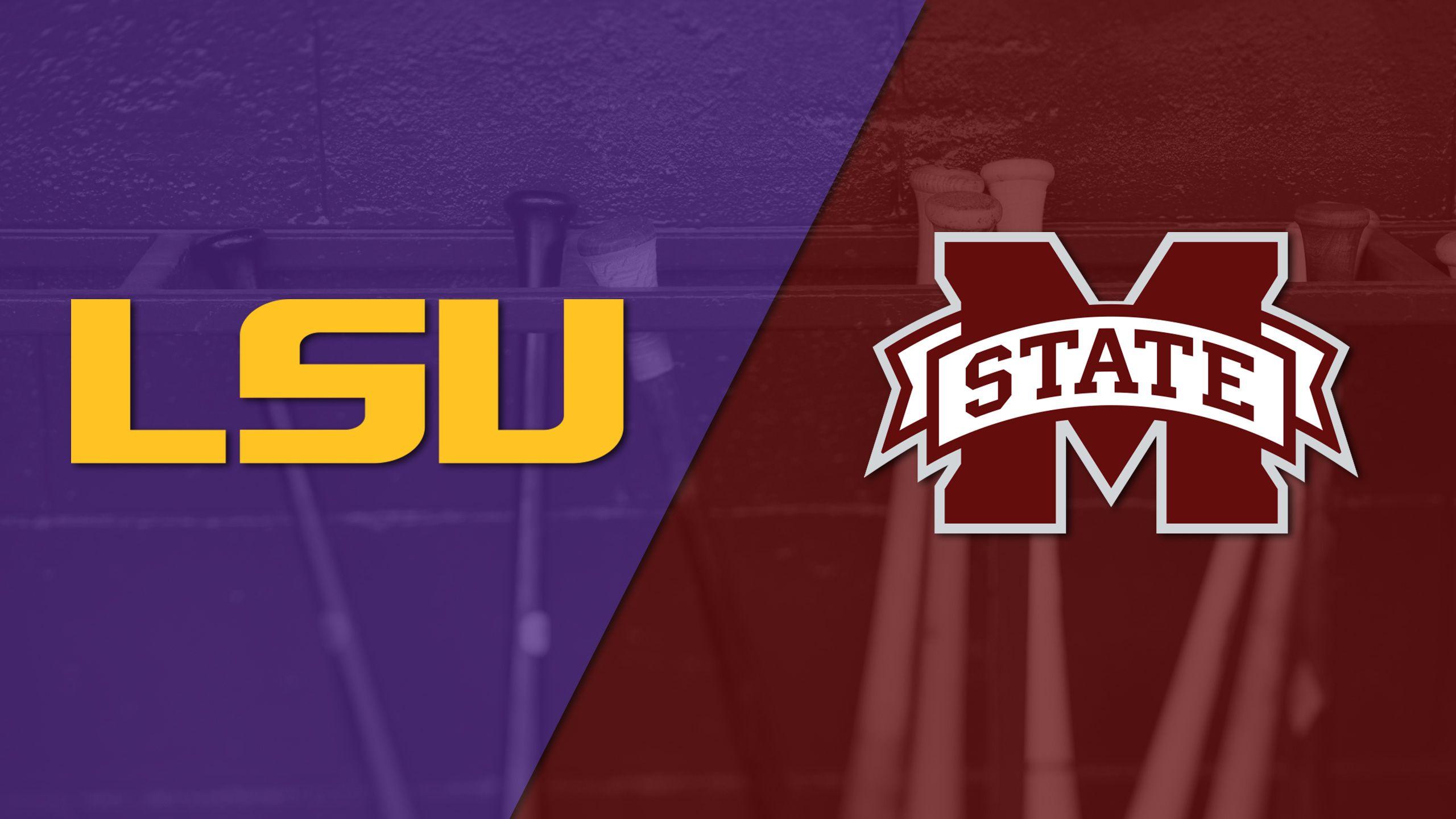 #6 LSU vs. #13 Mississippi State (Baseball)