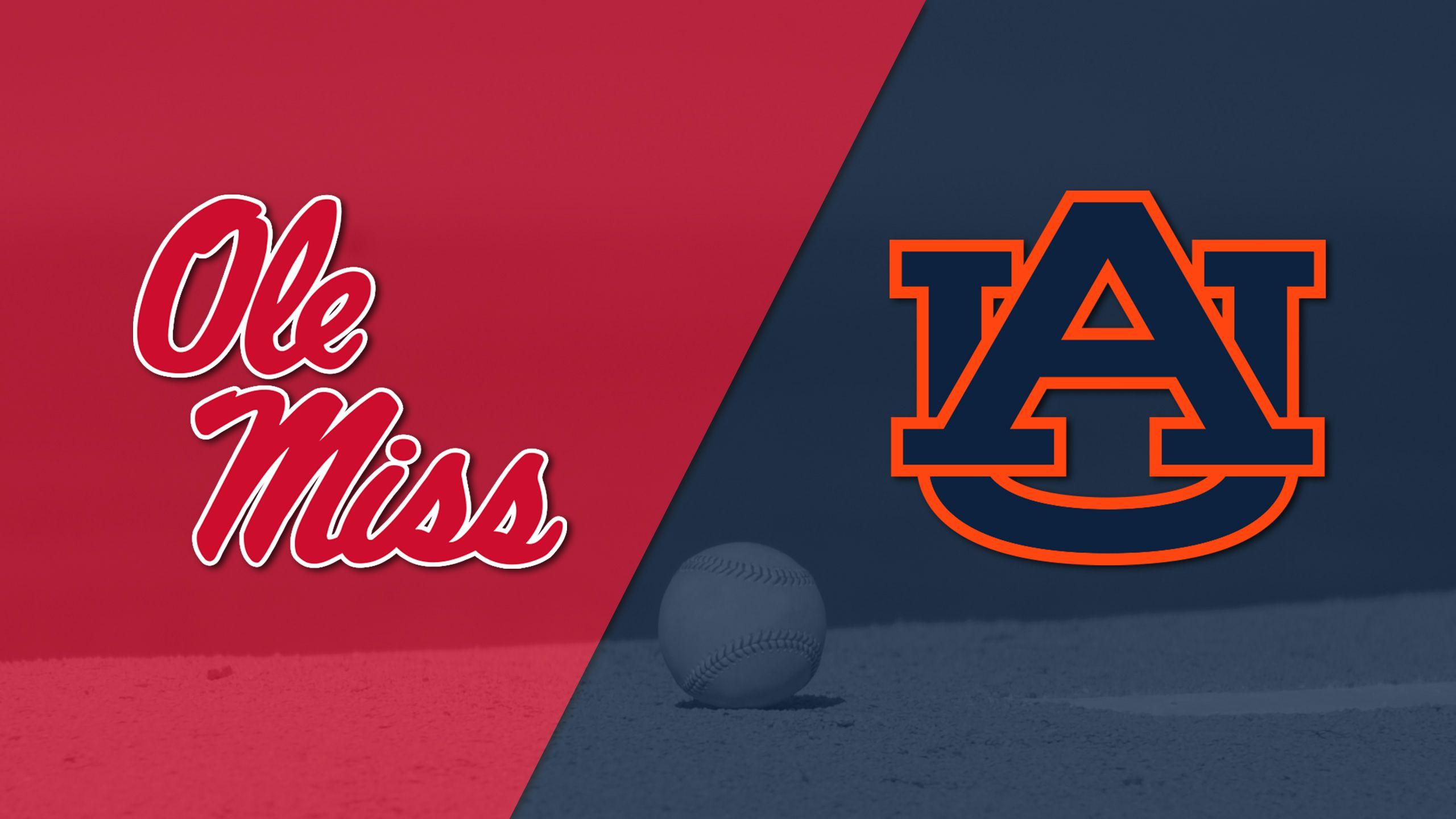 Ole Miss vs. #23 Auburn (Baseball)