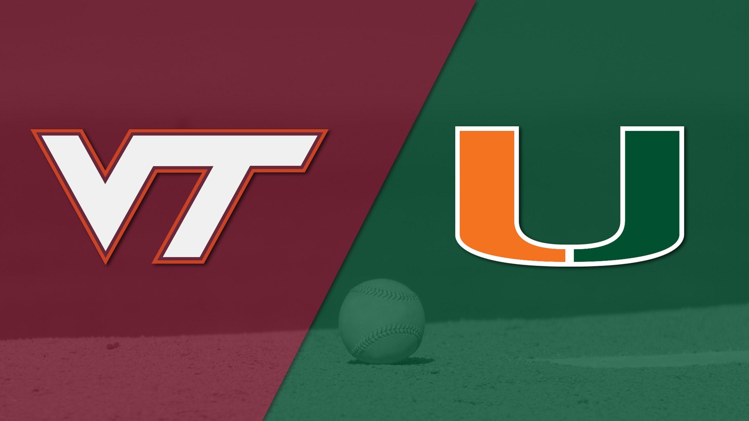 Virginia Tech vs. Miami (Baseball)
