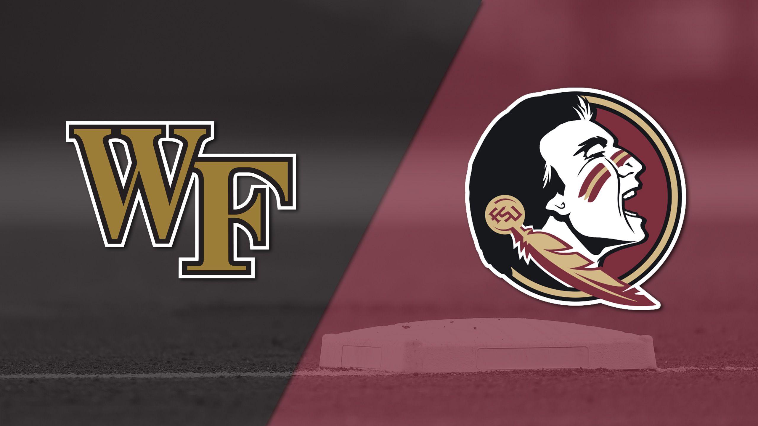 #20 Wake Forest vs. #25 Florida State (Baseball)