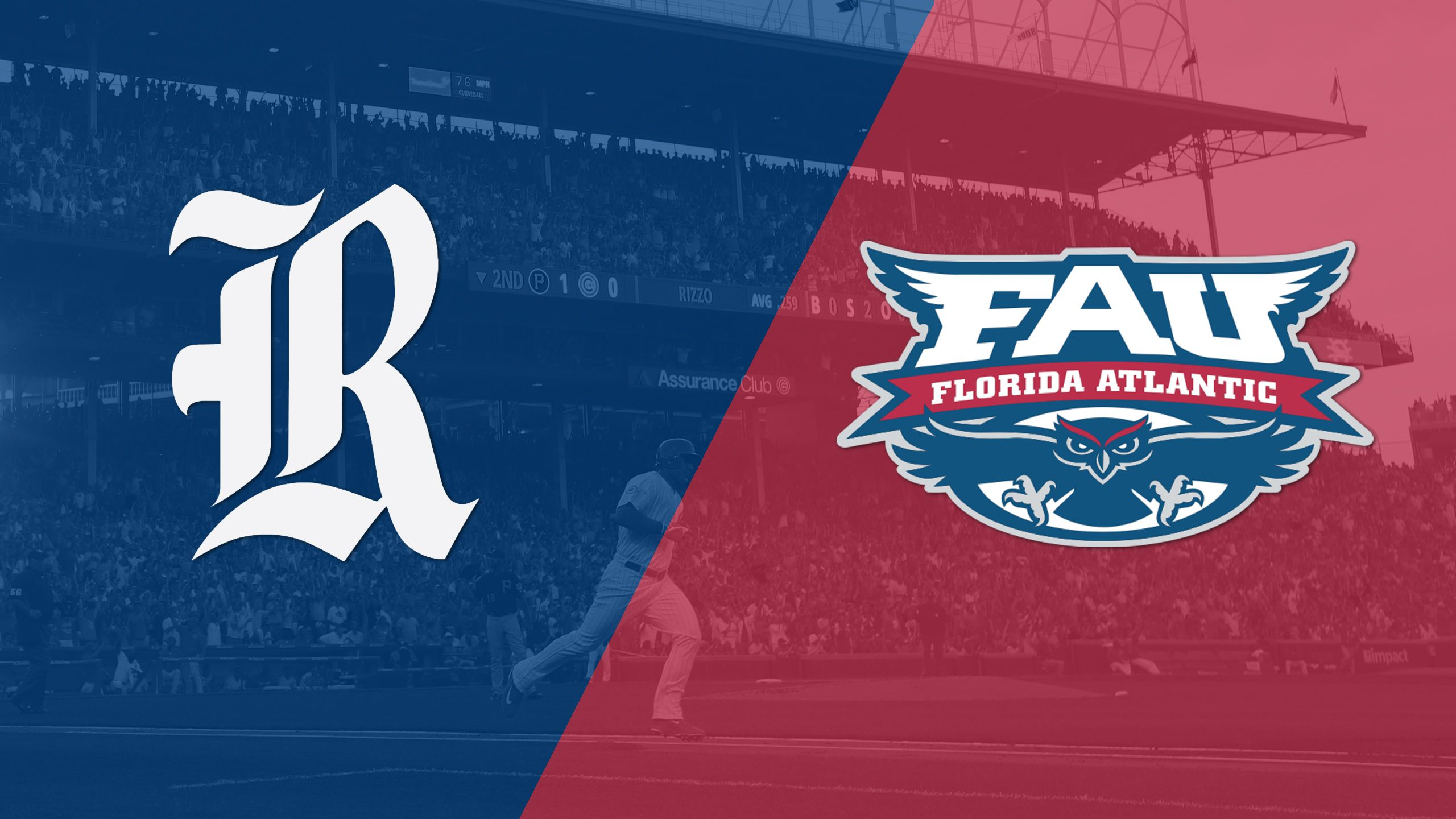 Rice vs. Florida Atlantic (Game 1) (C-USA Baseball Championship)
