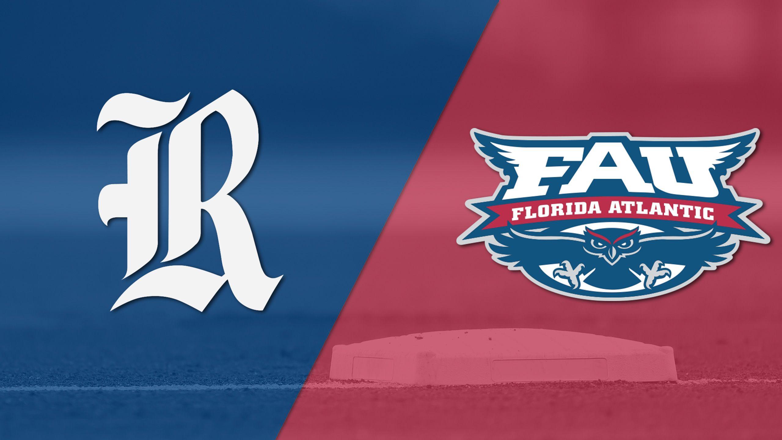 Rice vs. Florida Atlantic (Game 11) (C-USA Baseball Championship)