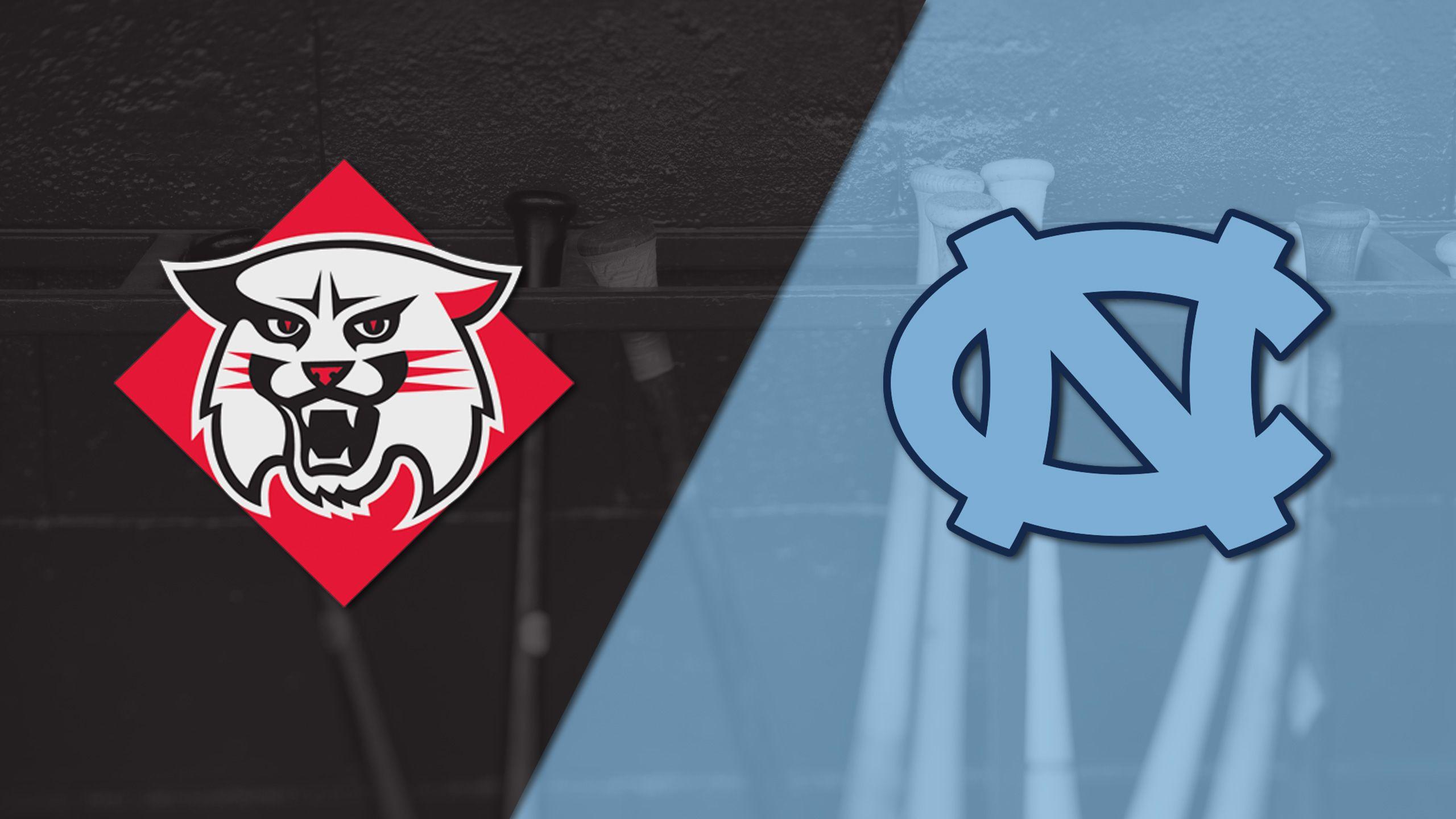 Davidson vs. #2 North Carolina (Site 9 / Game 2) (NCAA Baseball Championship)