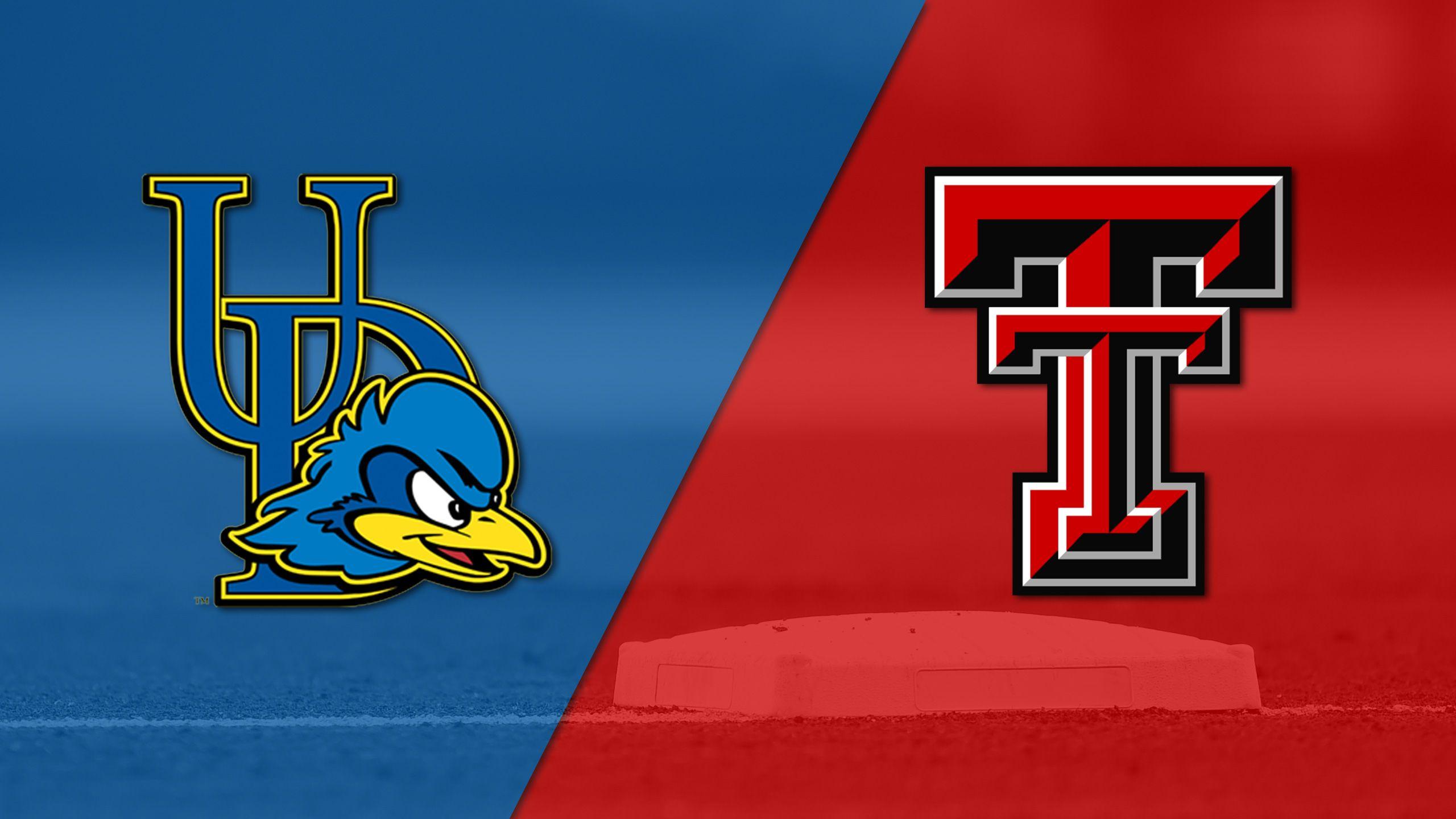 Delaware vs. Texas Tech (Site 5 / Game 1) (NCAA Baseball Championship)