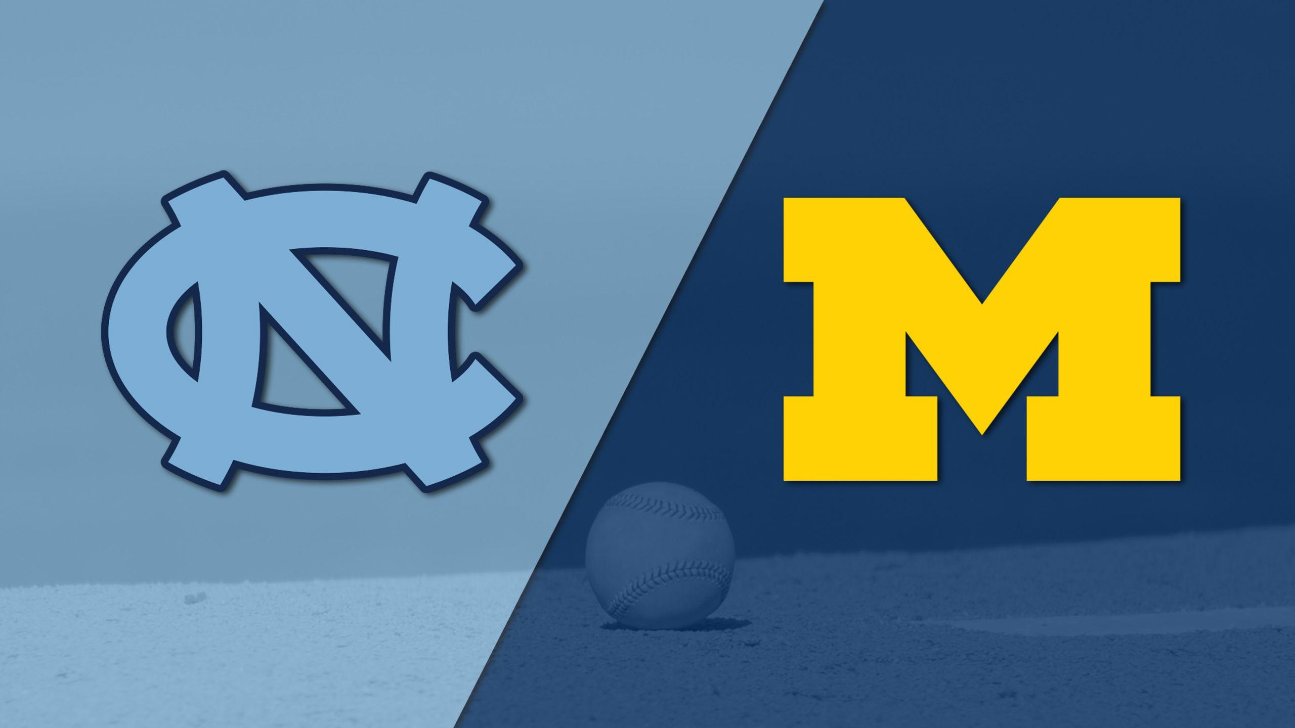 #2 North Carolina vs. Michigan (Site 9 / Game 3) (NCAA Baseball Championship)