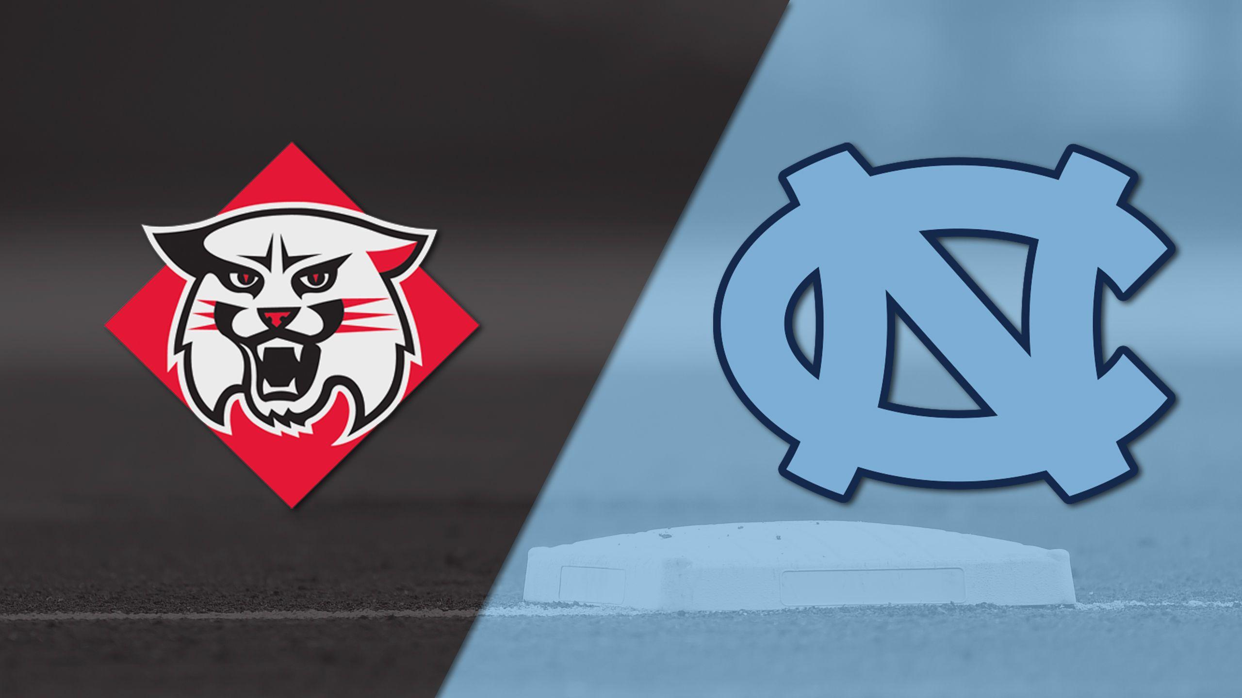 Davidson vs. #2 North Carolina (Site 9 / Game 6) (NCAA Baseball Championship)