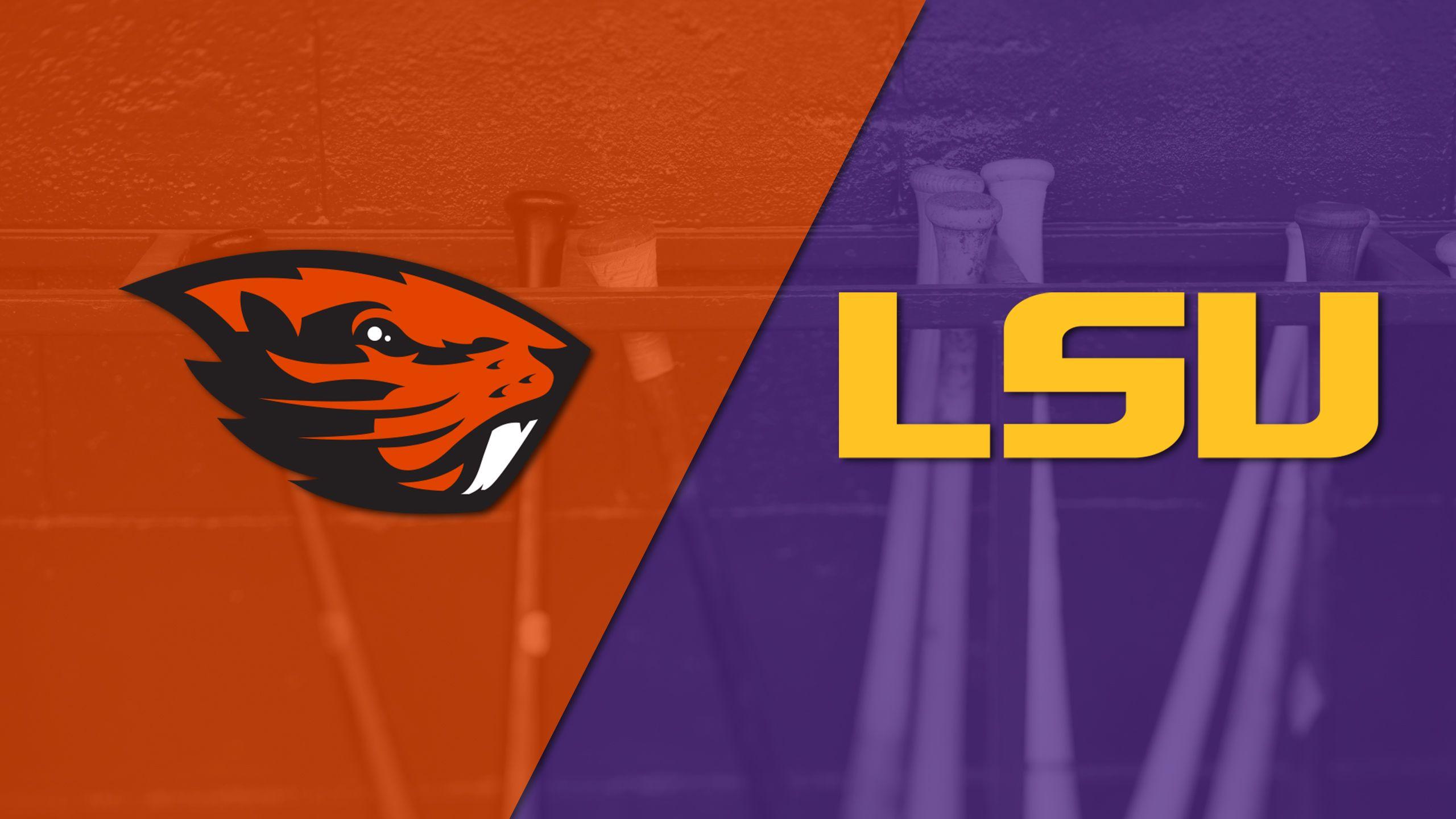 Multiview - #1 Oregon State vs. #4 LSU (Game 13) (College World Series)