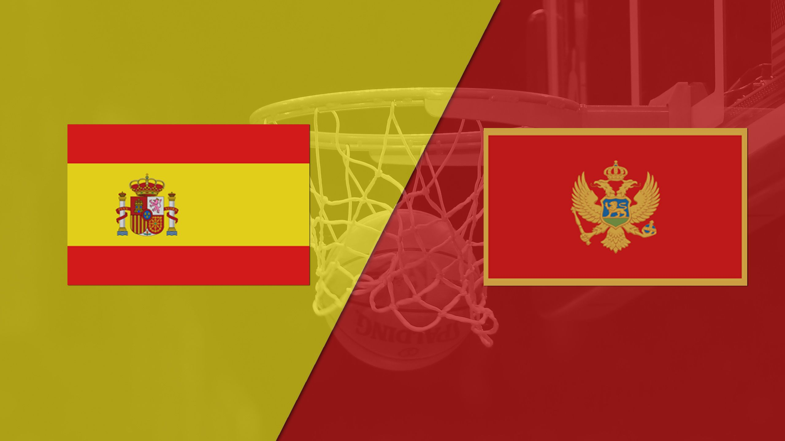 Spain vs. Montenegro (FIBA World Cup 2019 Qualifier)