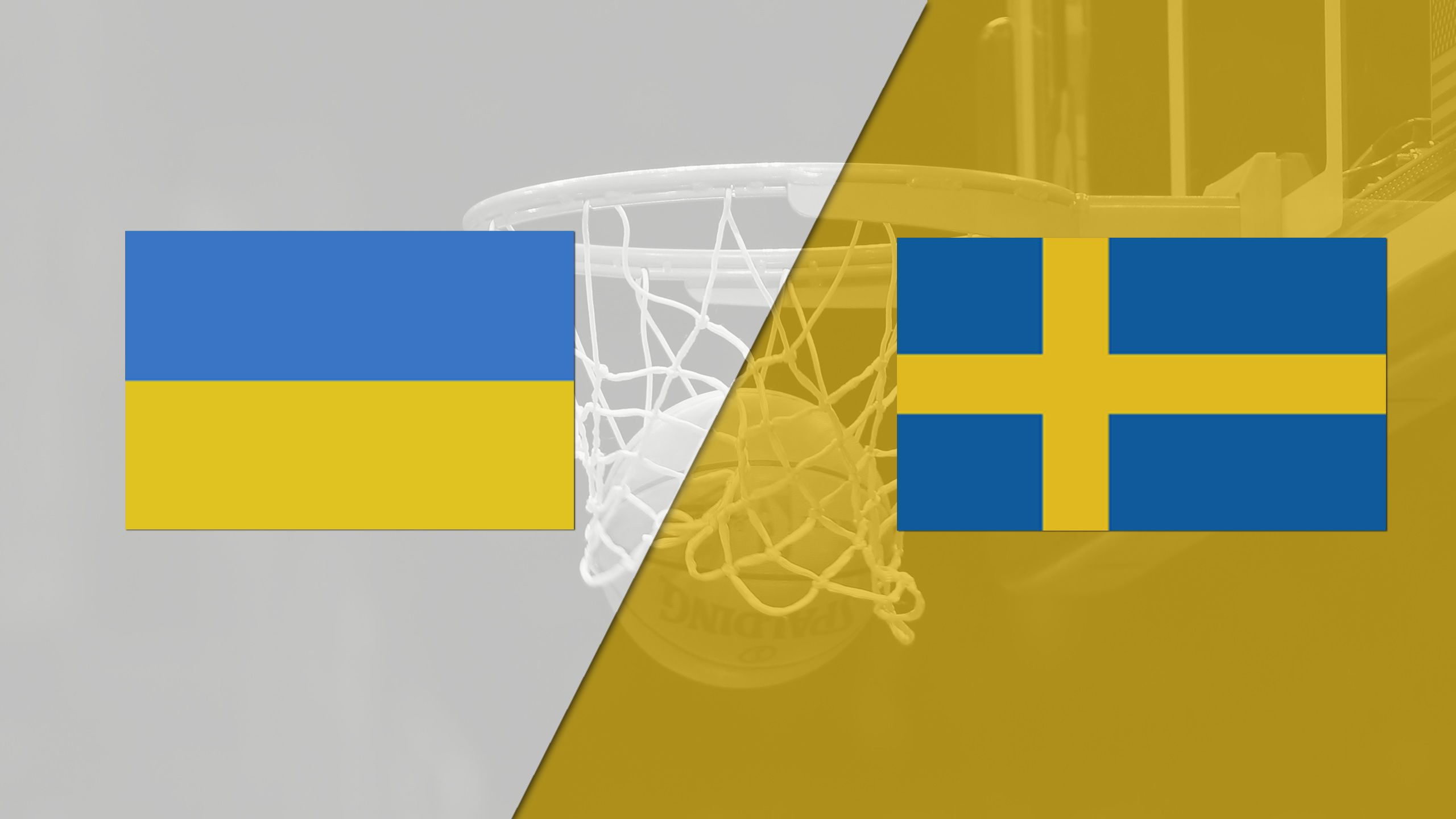 Ukraine vs. Sweden (FIBA World Cup 2019 Qualifier)