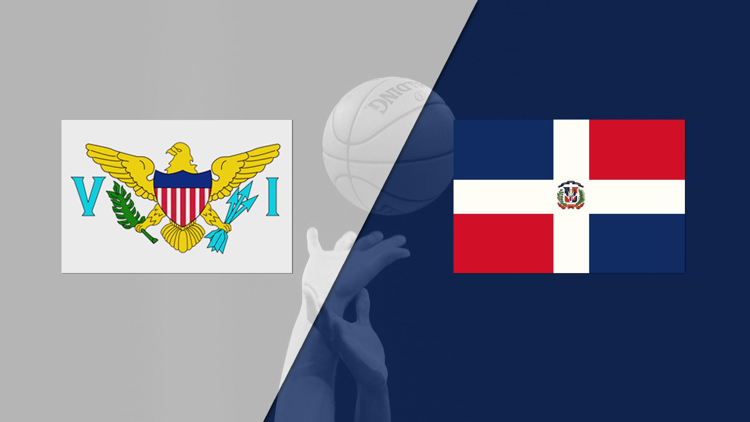 Virgin Islands vs. Dominican Republic (FIBA World Cup 2019 Qualifier)