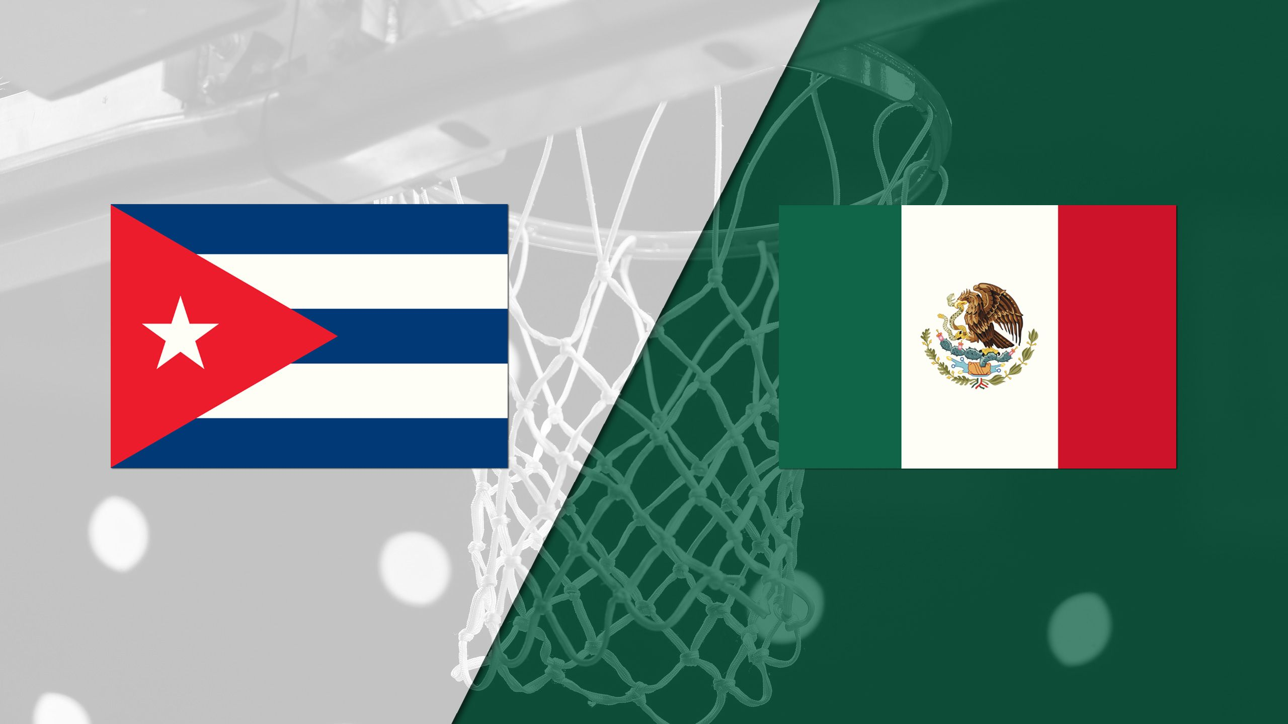Cuba vs. Mexico (FIBA World Cup 2019 Qualifier)