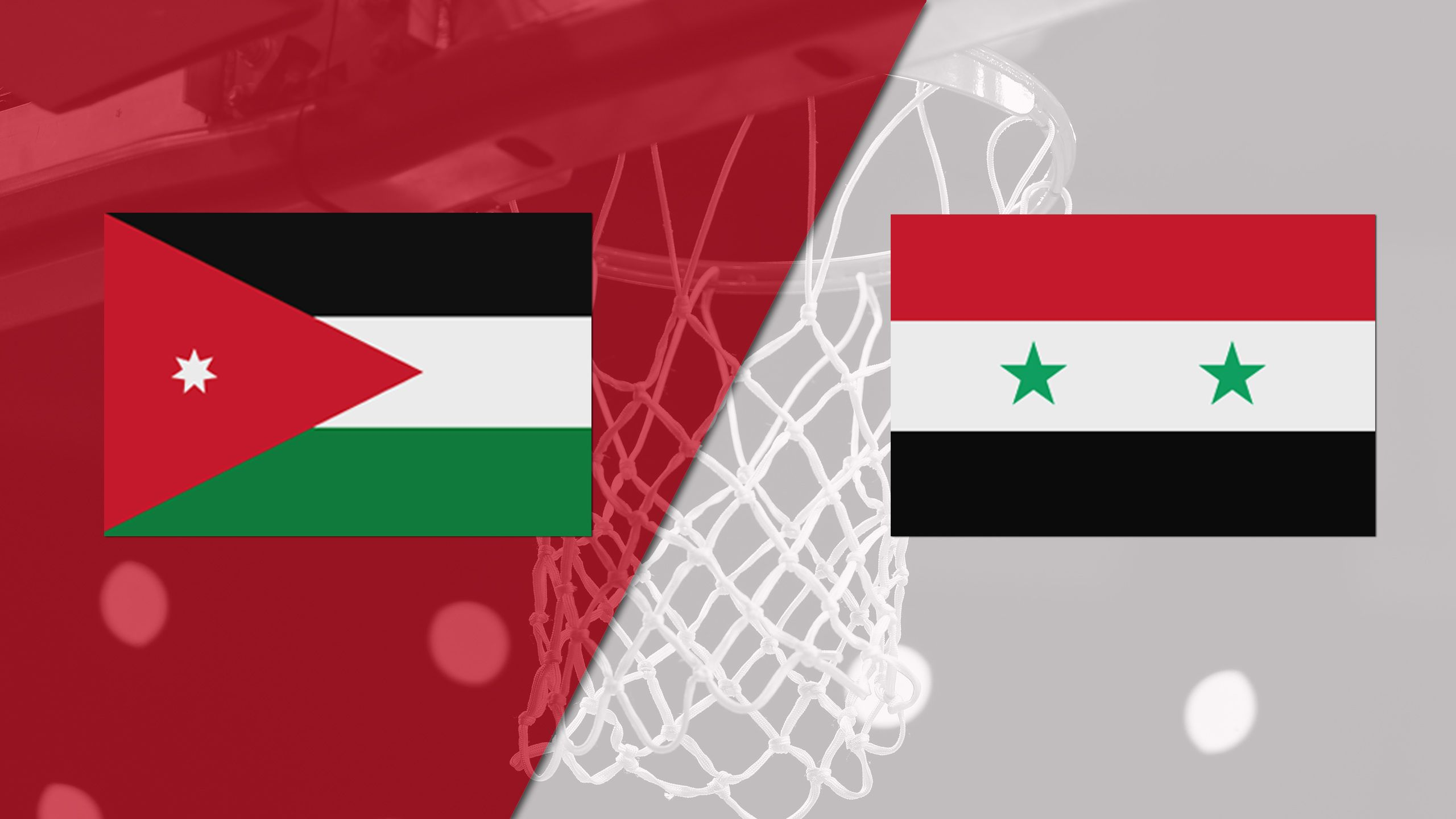 Jordan vs. Syria (FIBA World Cup 2019 Qualifier)
