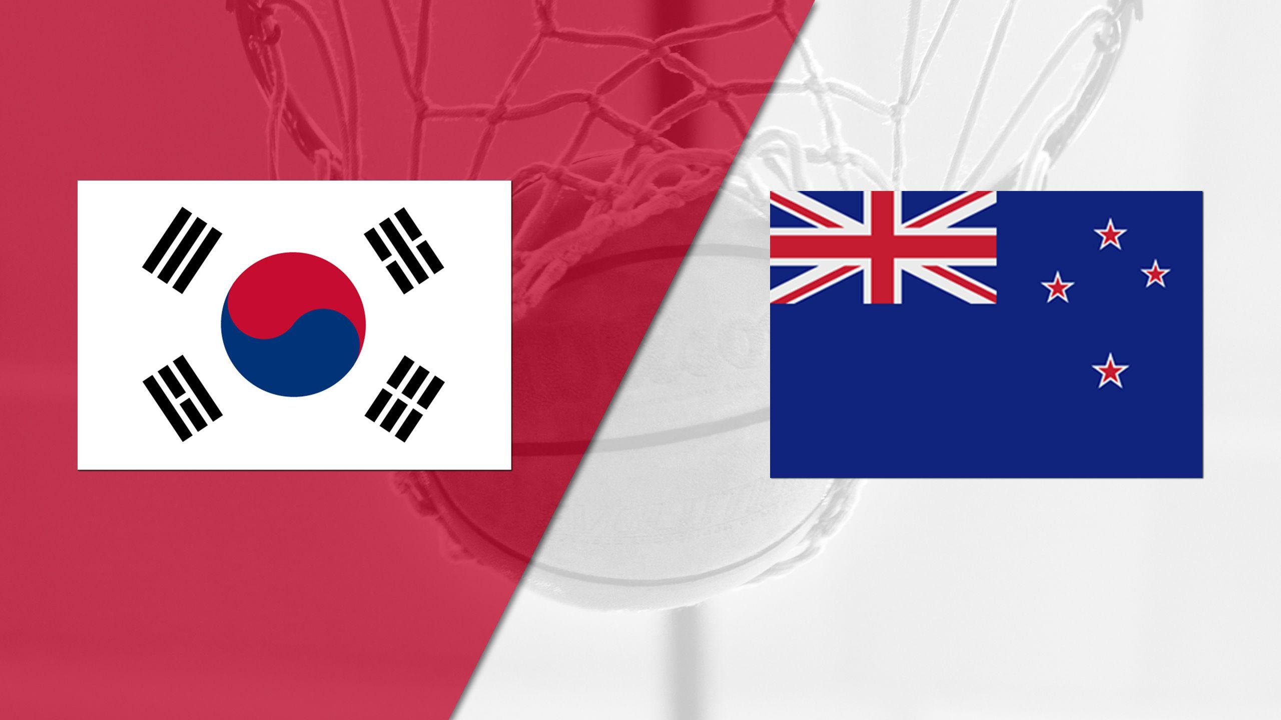 Korea vs. New Zealand (FIBA World Cup 2019 Qualifier)