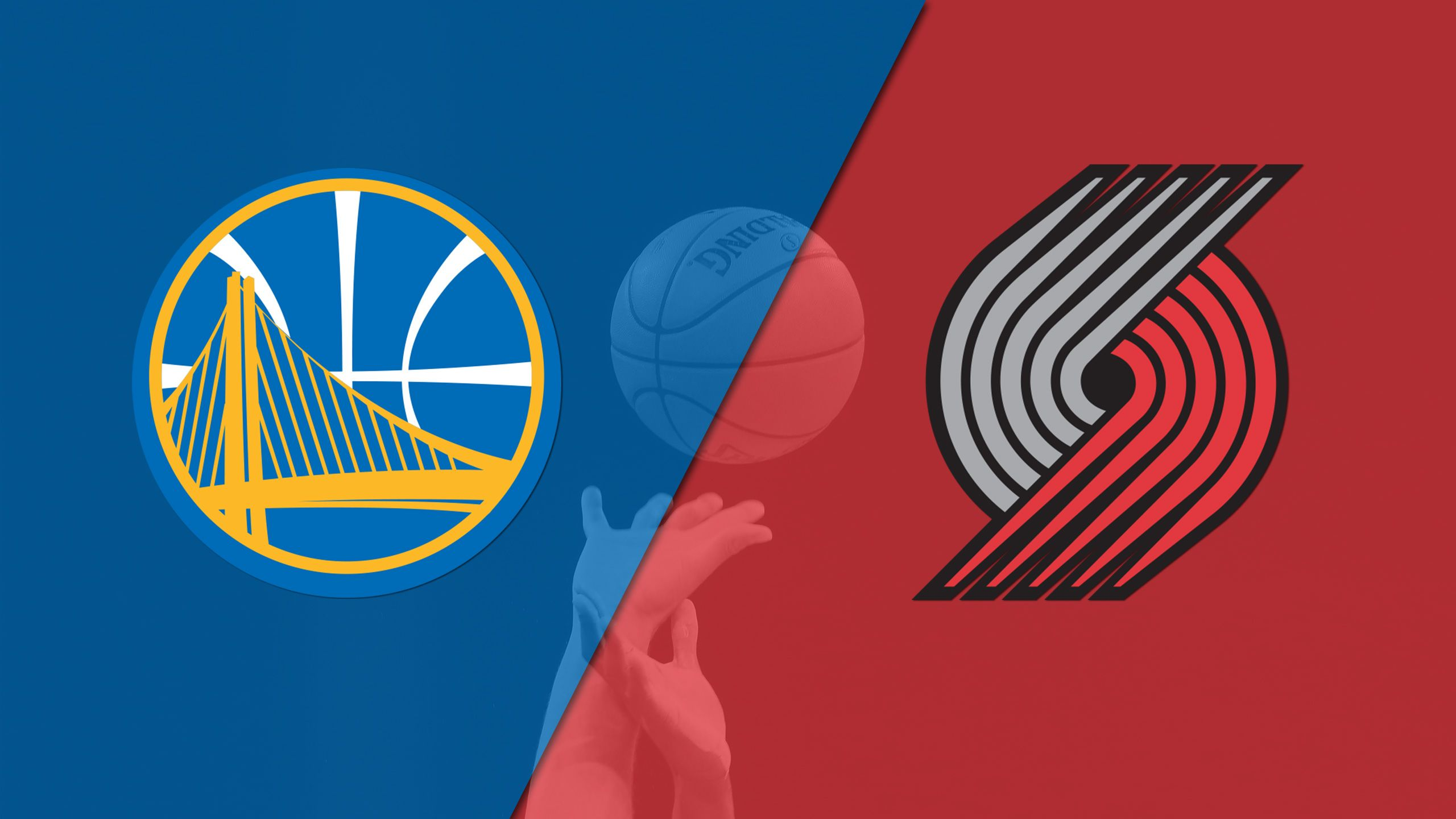 Golden State Warriors vs. Portland Trail Blazers (First Round, Game 3) (re-air)