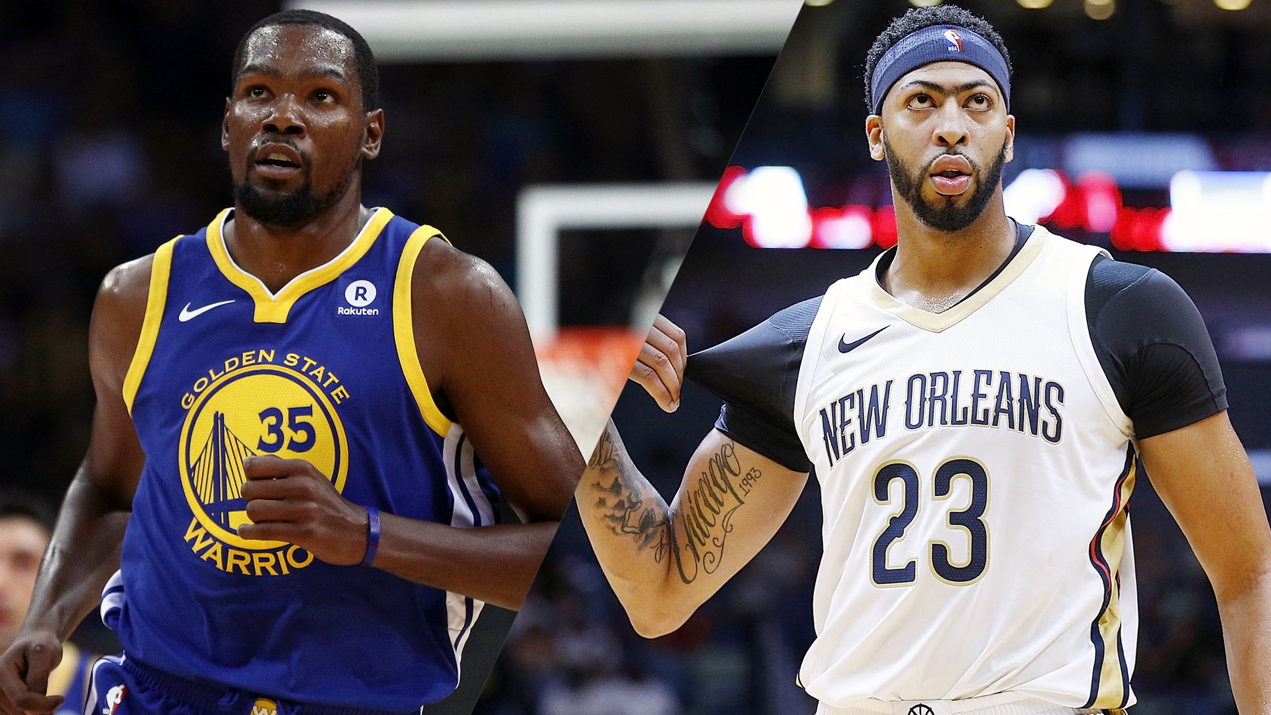 Golden State Warriors vs. New Orleans Pelicans