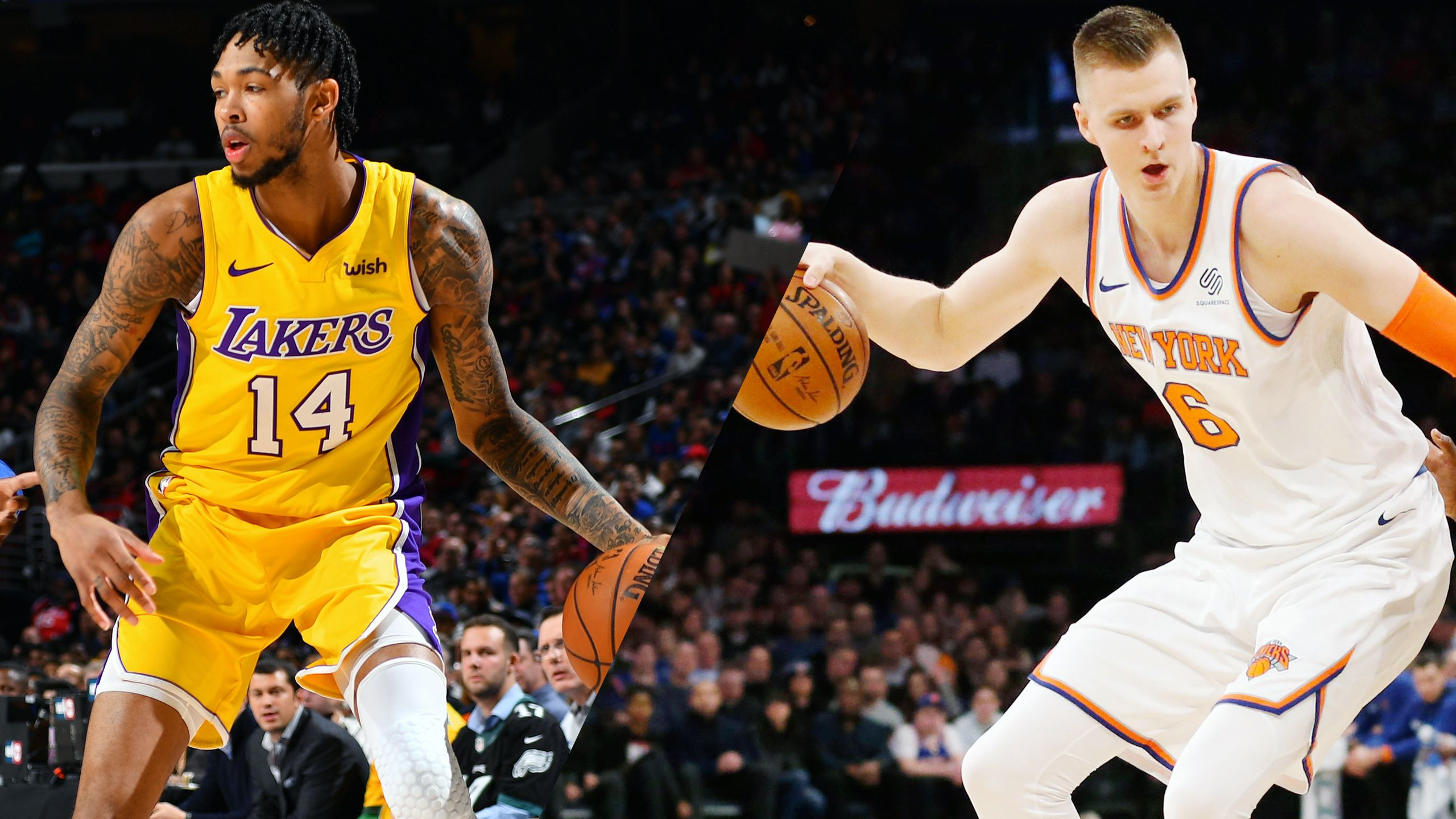 Los Angeles Lakers vs. New York Knicks