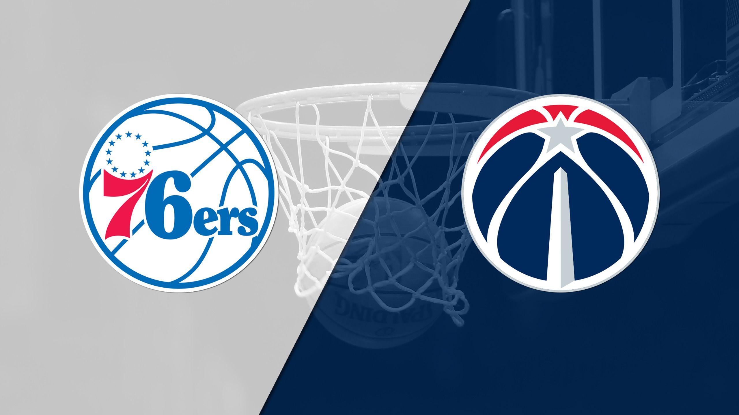 In Spanish - Philadelphia 76ers vs. Washington Wizards