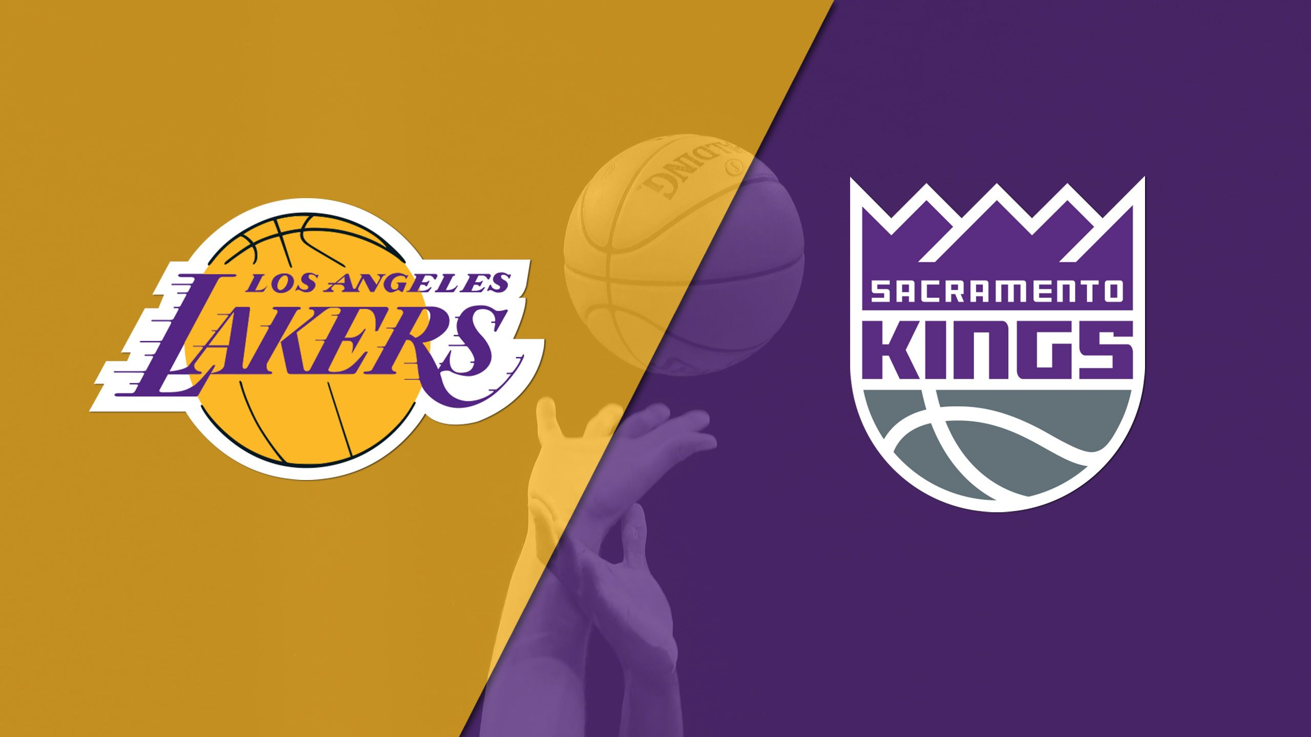 In Spanish - Los Angeles Lakers vs. Sacramento Kings