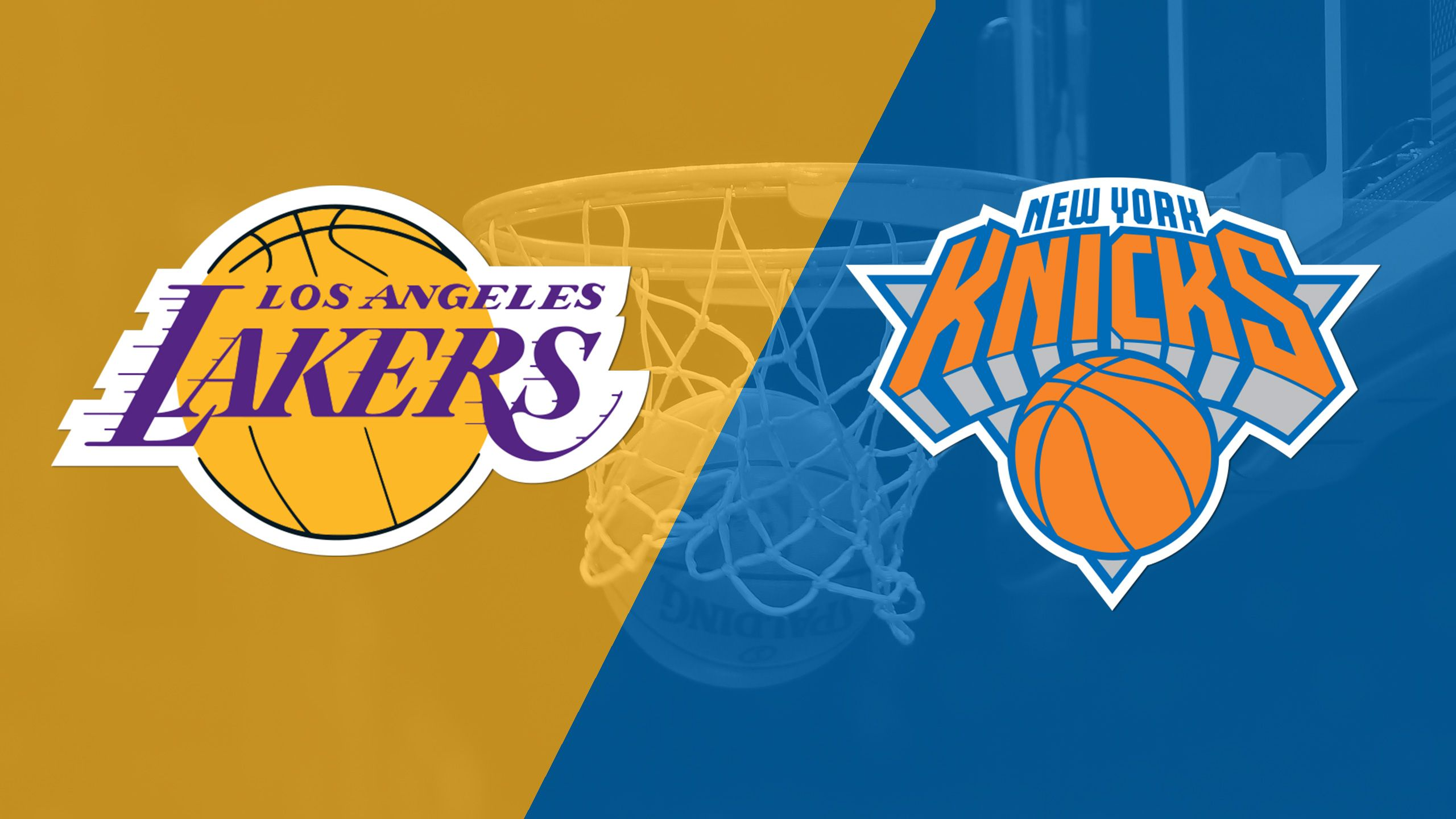 In Spanish - Los Angeles Lakers vs. New York Knicks