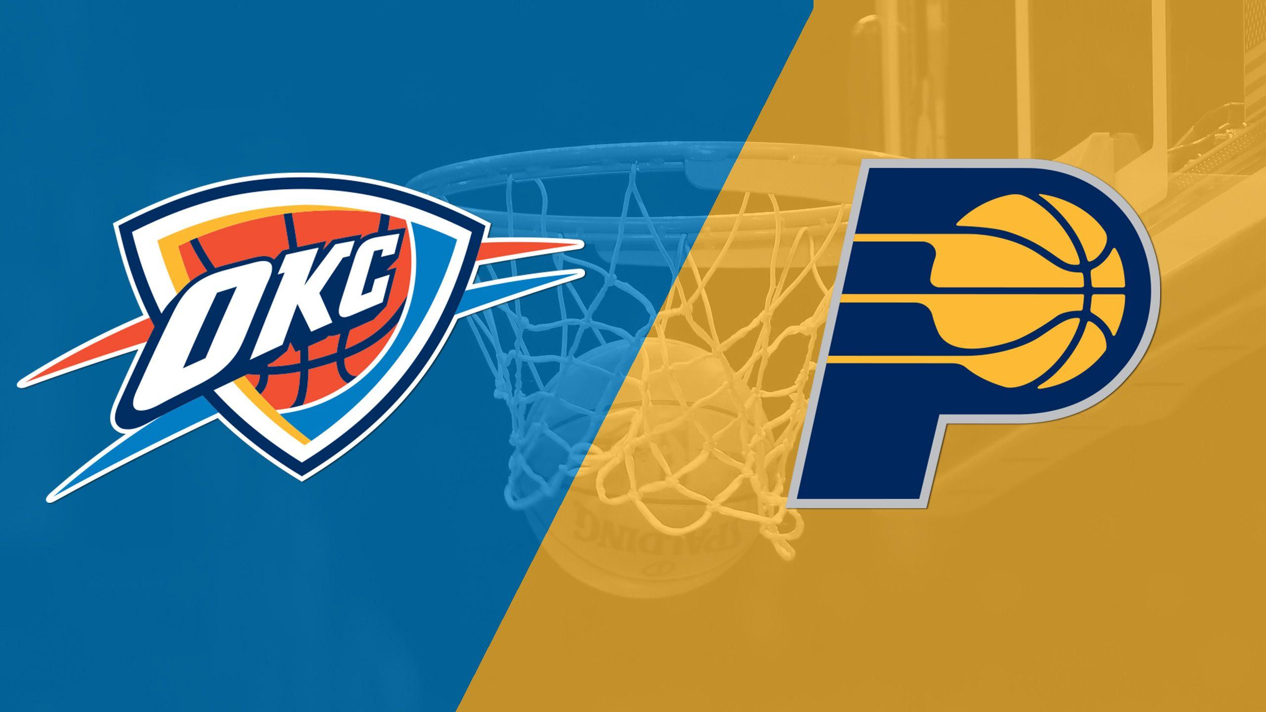 In Spanish - Oklahoma City Thunder vs. Indiana Pacers