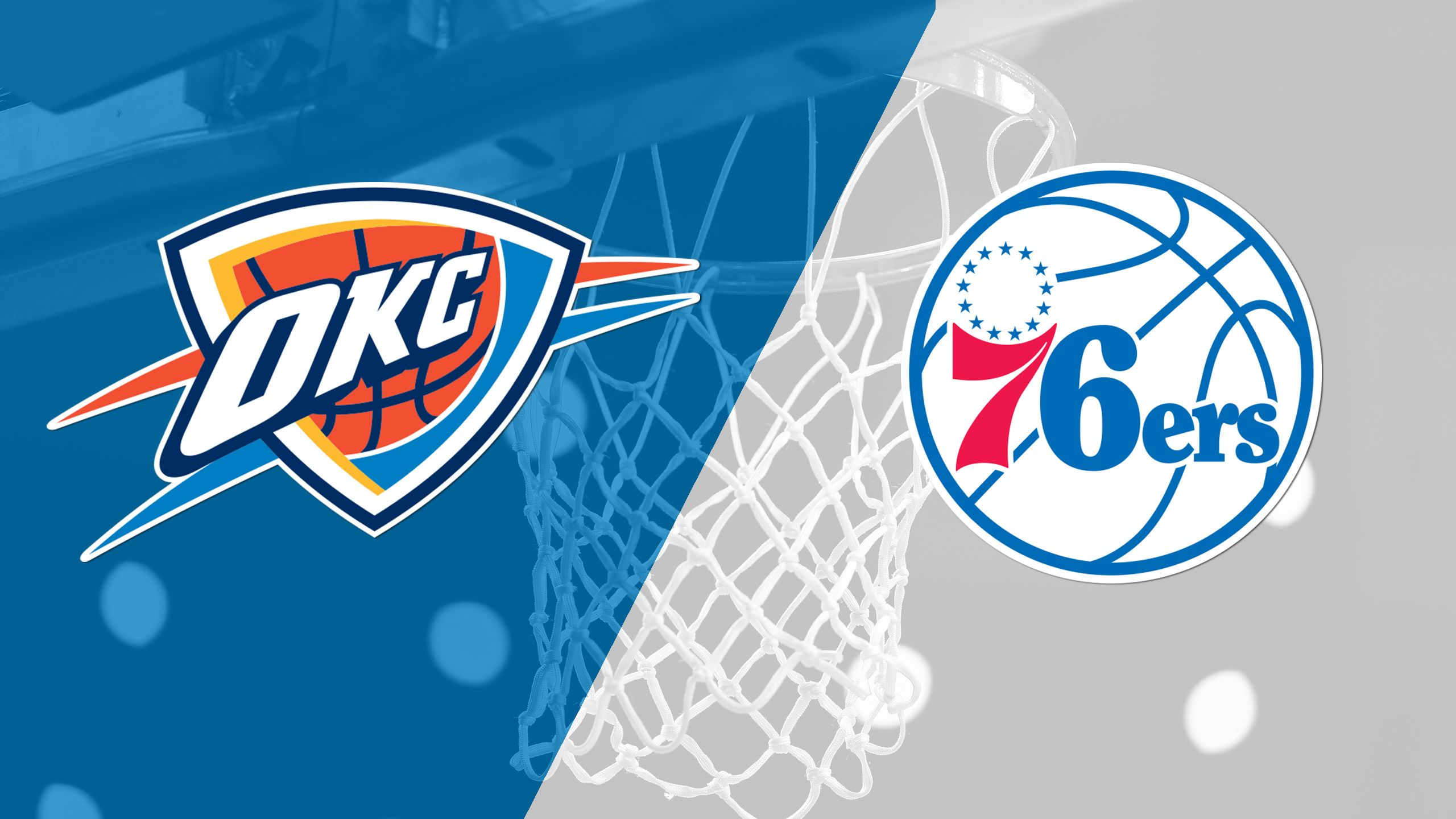 In Spanish - Oklahoma City Thunder vs. Philadelphia 76ers