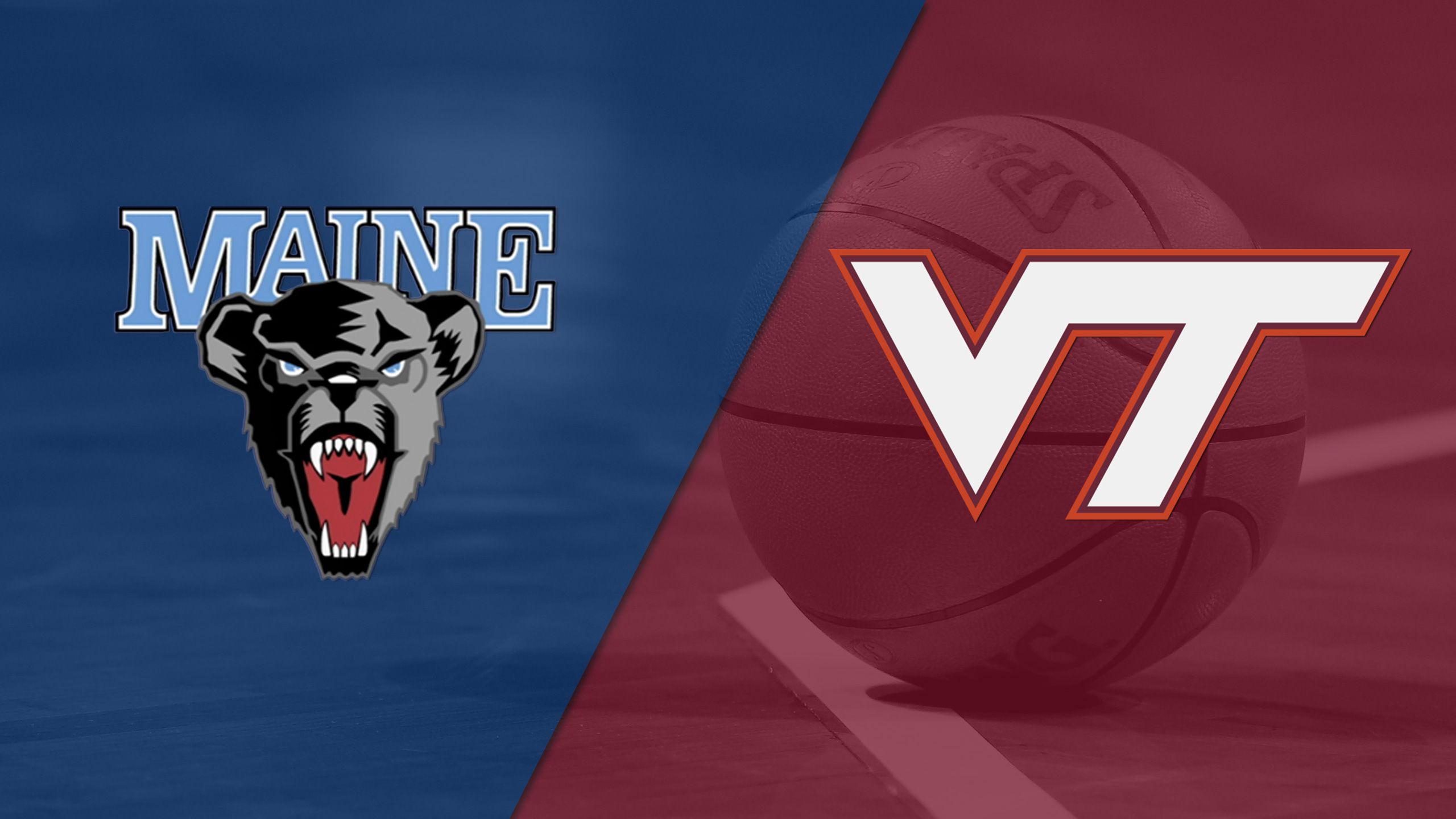 Maine vs. Virginia Tech (M Basketball)