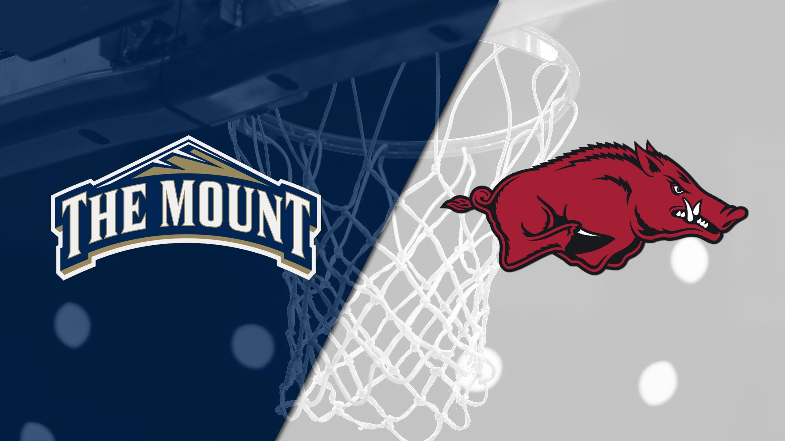 Mount St. Mary's vs. Arkansas (M Basketball)