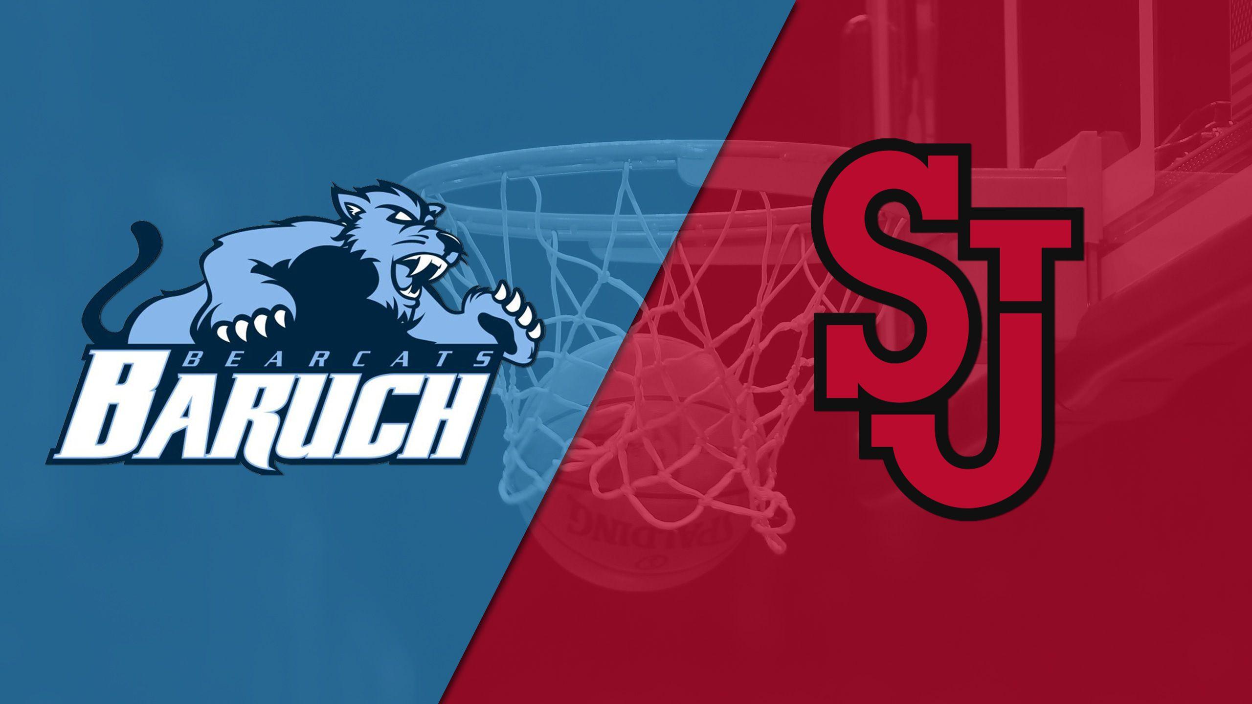 Baruch vs. St. John's (M Basketball)