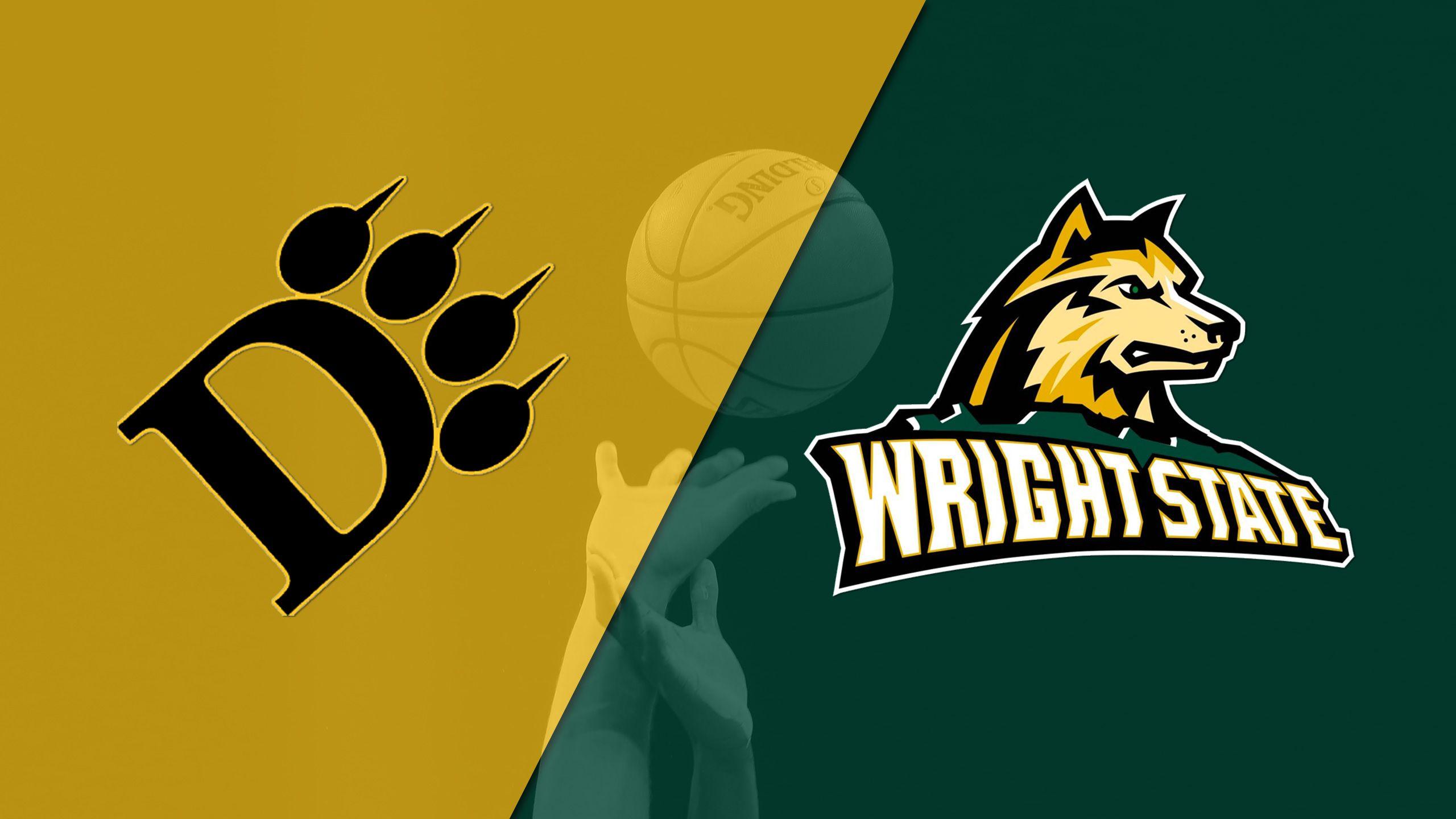 Ohio Dominican vs. Wright State (M Basketball)