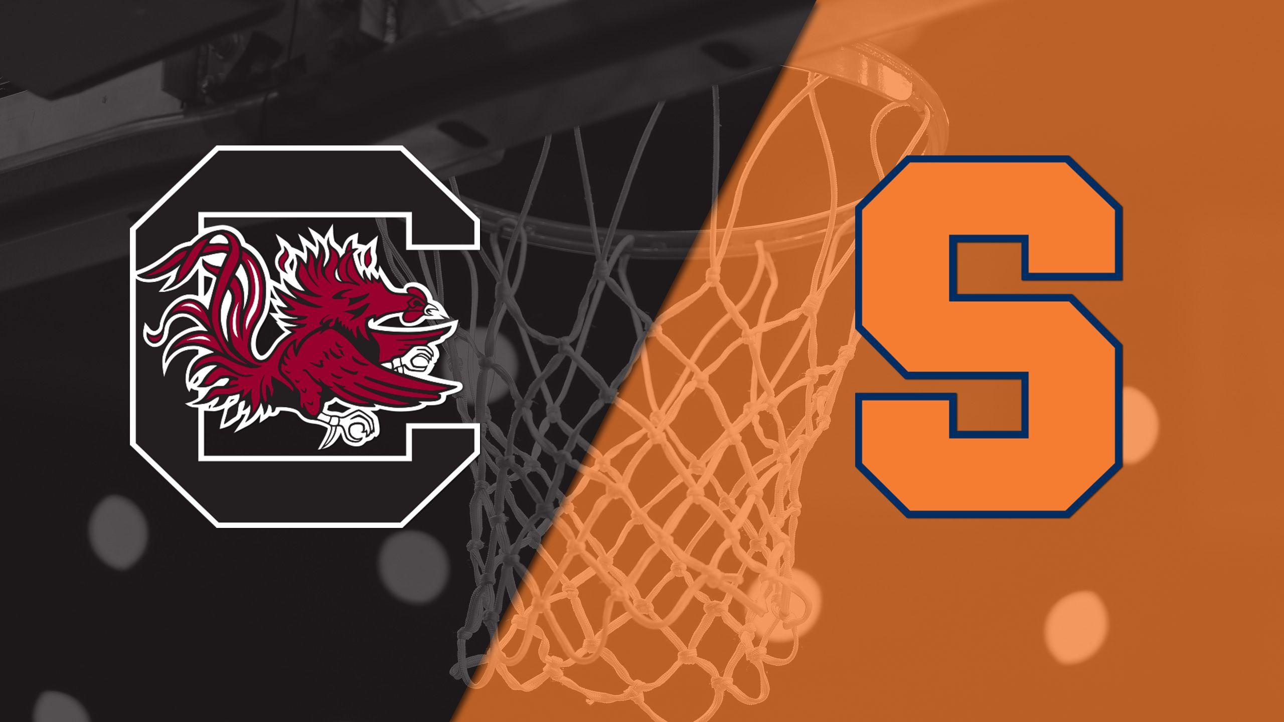 South Carolina vs. #18 Syracuse (M Basketball)