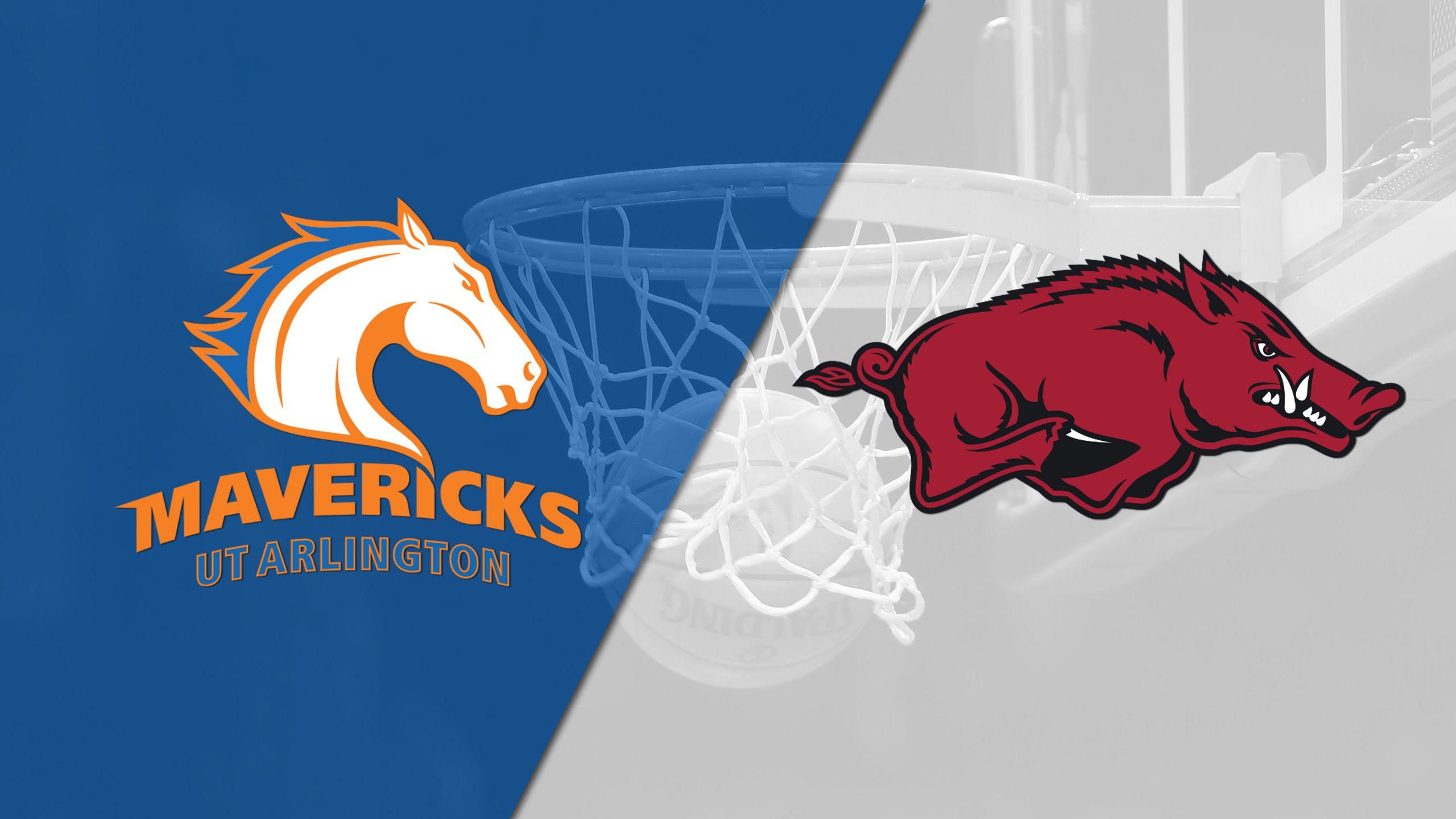 UT Arlington vs. Arkansas (M Basketball)