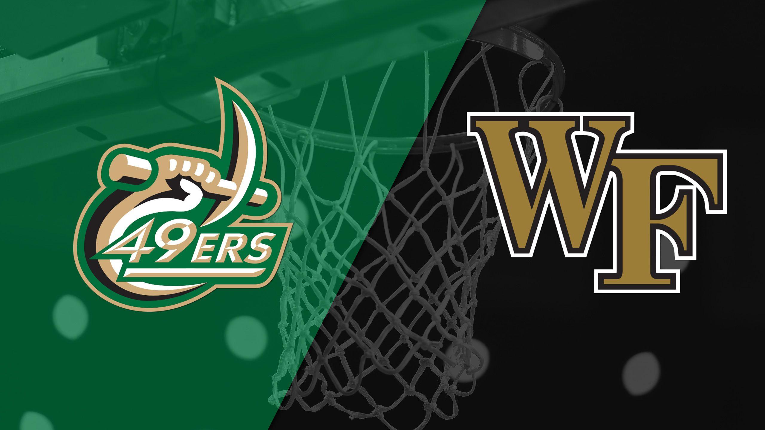 Charlotte vs. Wake Forest (M Basketball)