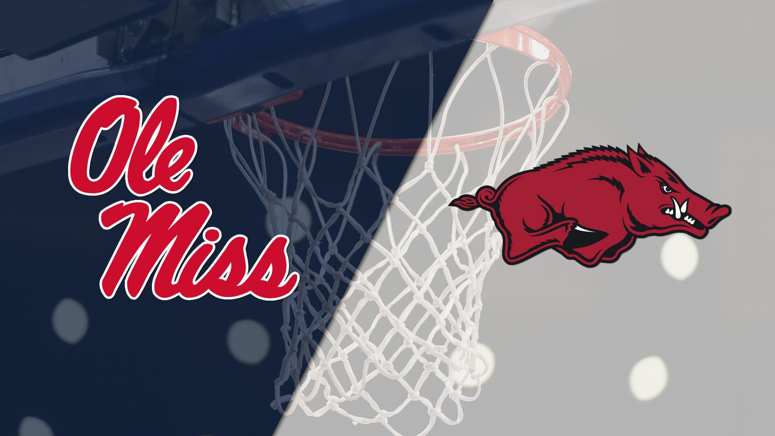 Ole Miss vs. Arkansas (M Basketball)