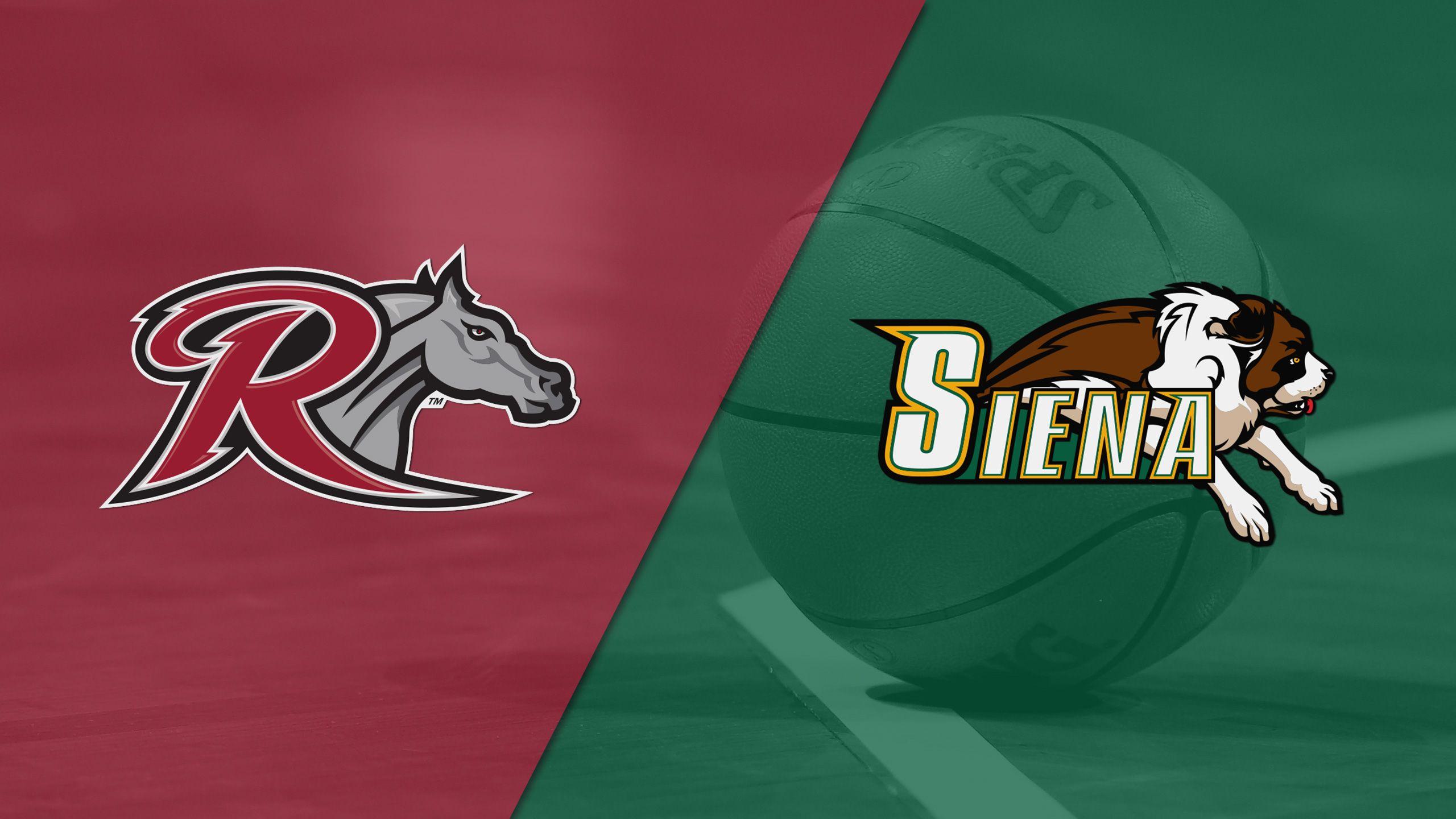 Rider vs. Siena (M Basketball)