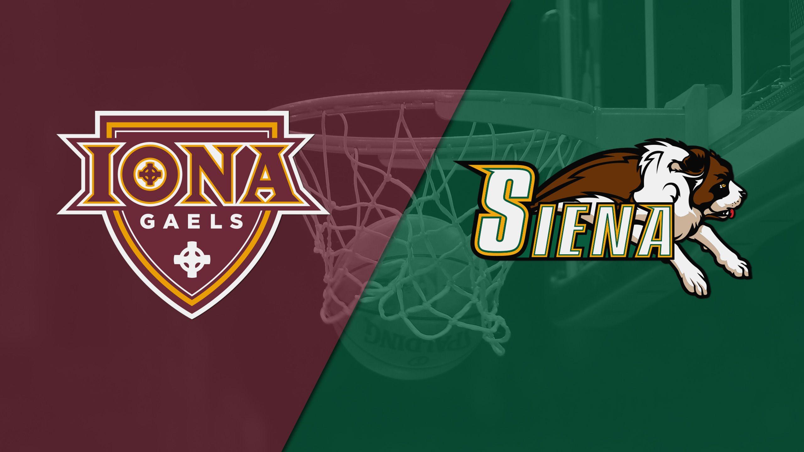 Iona vs. Siena (M Basketball)