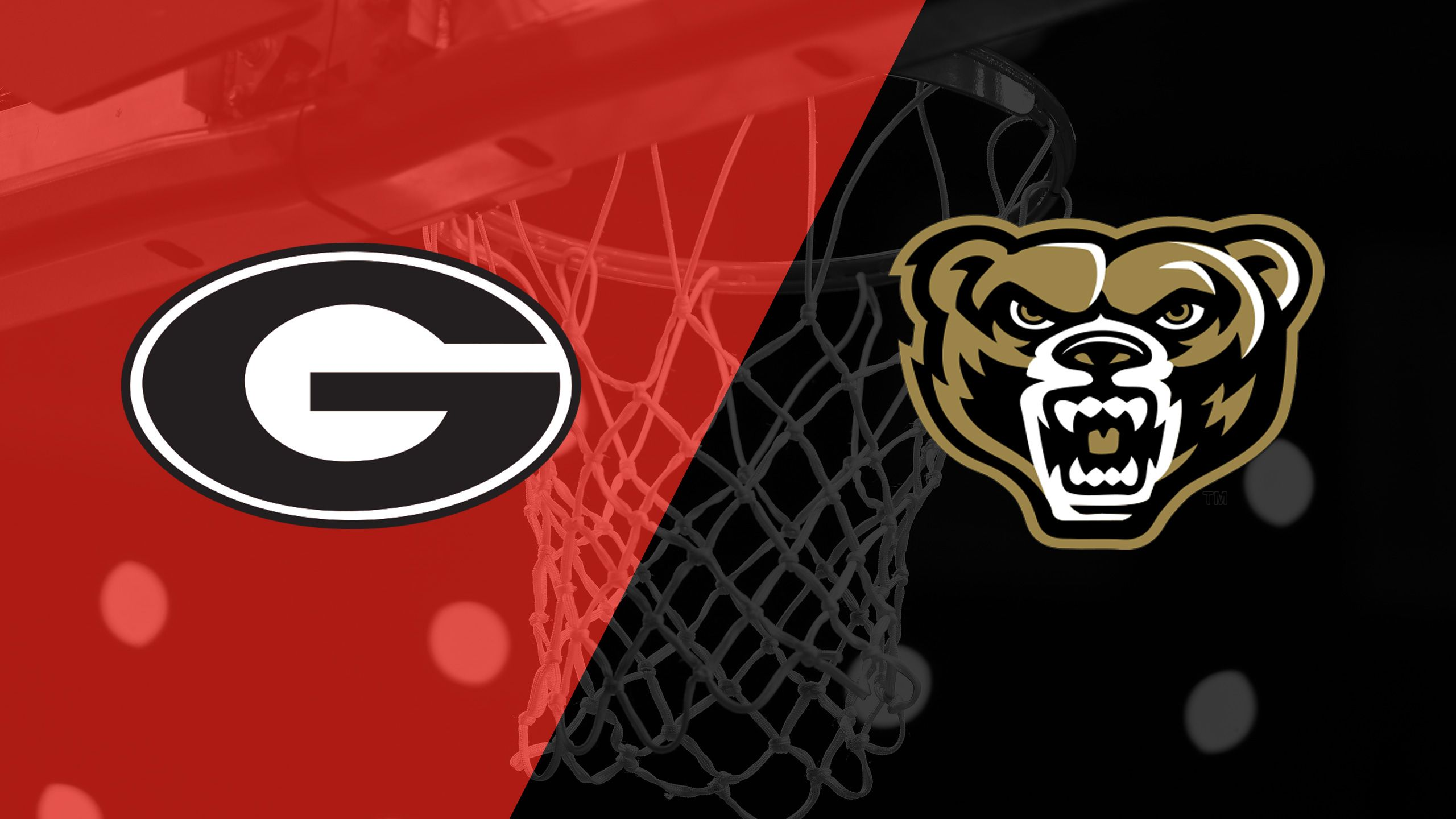 Georgia vs. Oakland (M Basketball)